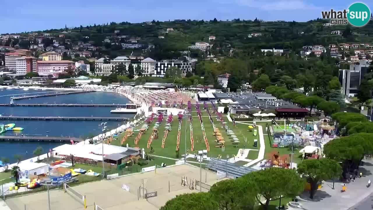 Portorož – Pogled sa Casinoja Portorož