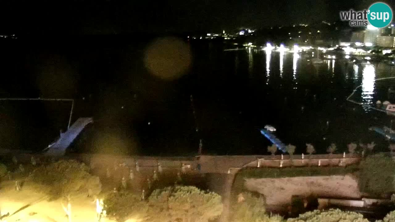 Webcam Playa Portorož – Bungalow