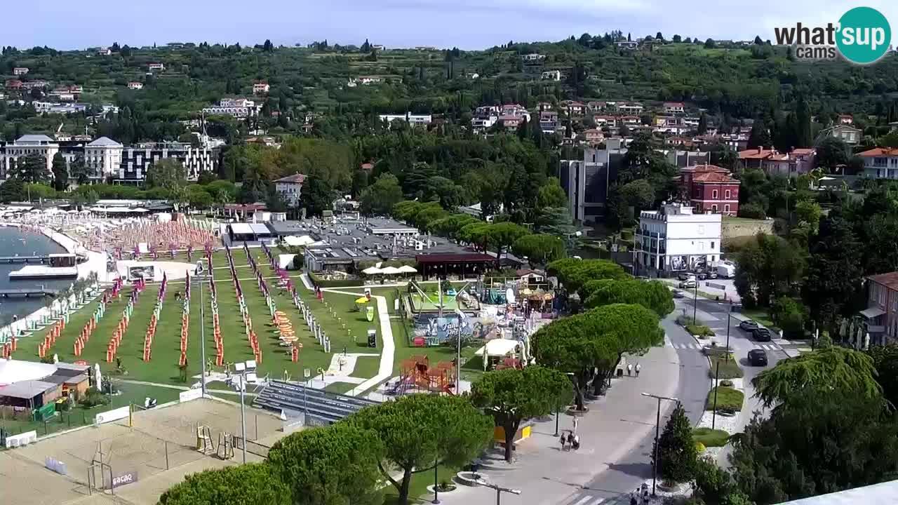 Portorož – Pogled s Casinoja Portorož