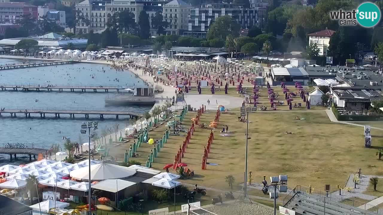 Webcam Portorož beach