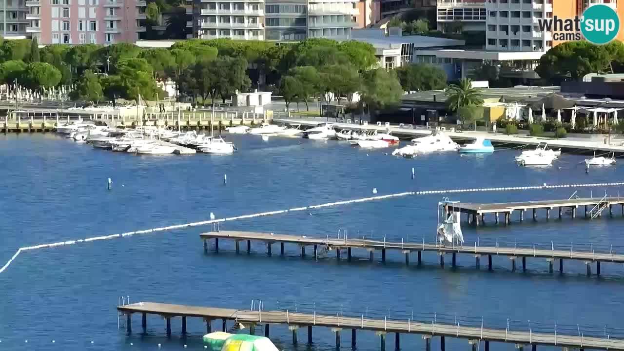 Webcam Plage Portorož – Bungalow