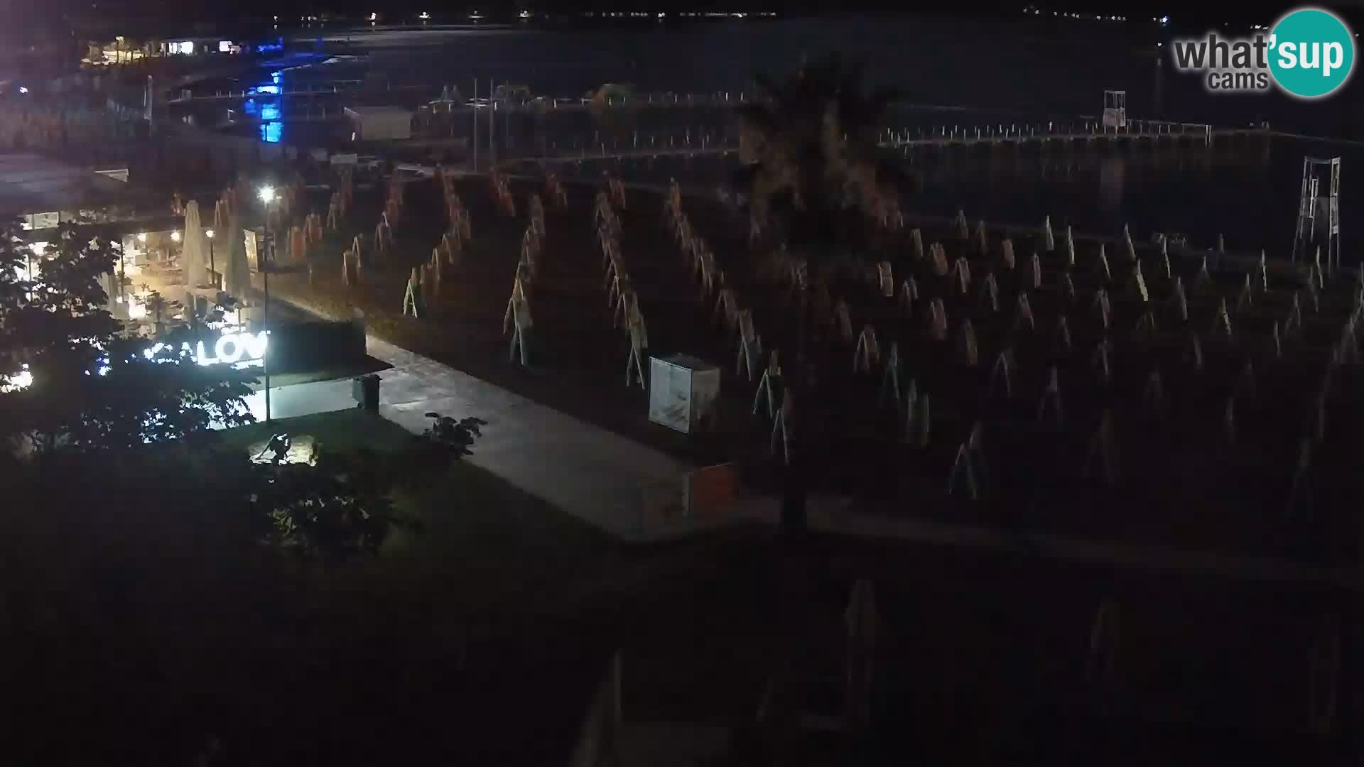 Webcam Live Spiaggia di Portorose