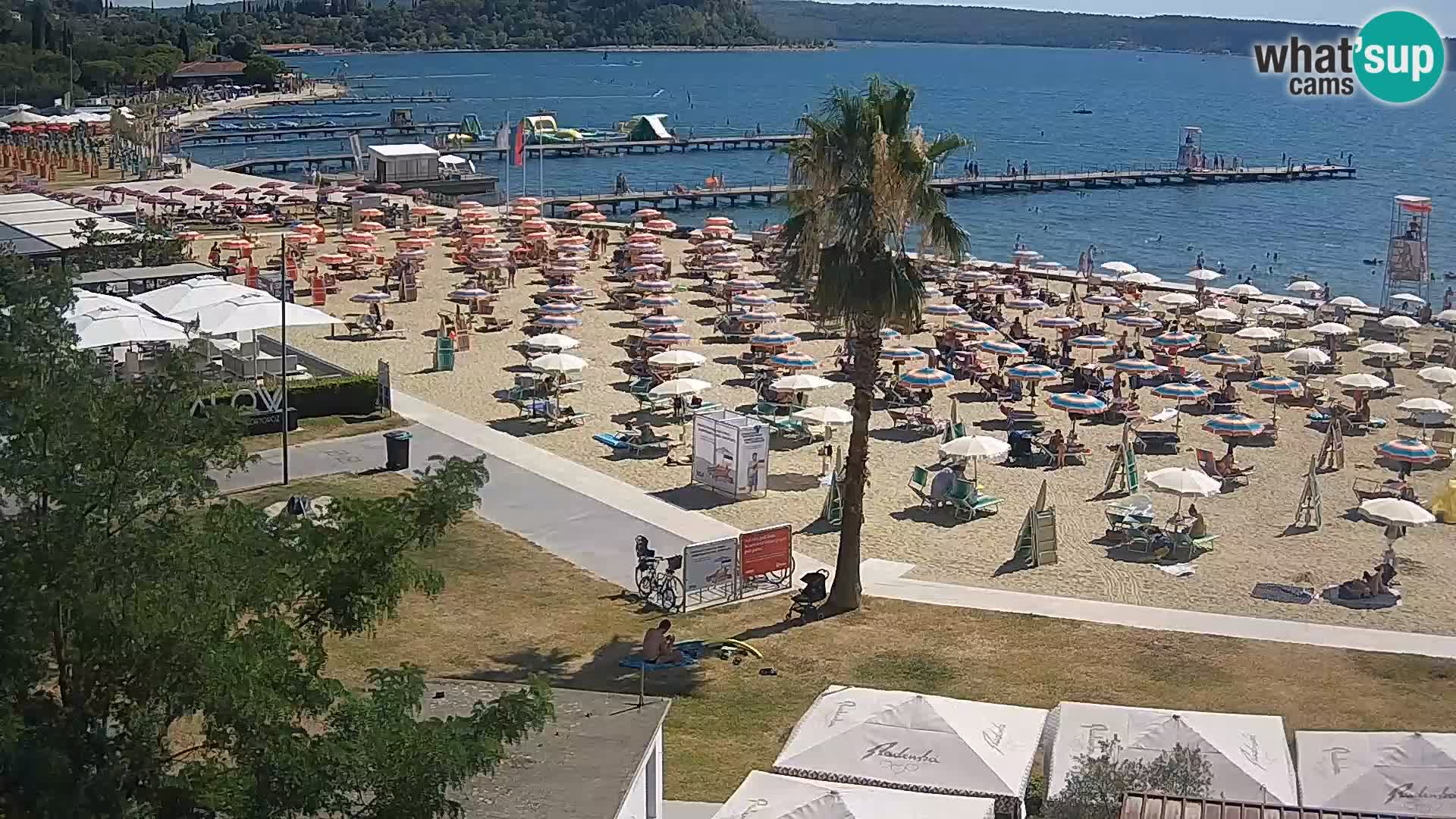 Webcam Portorož Strand – Karamela bar