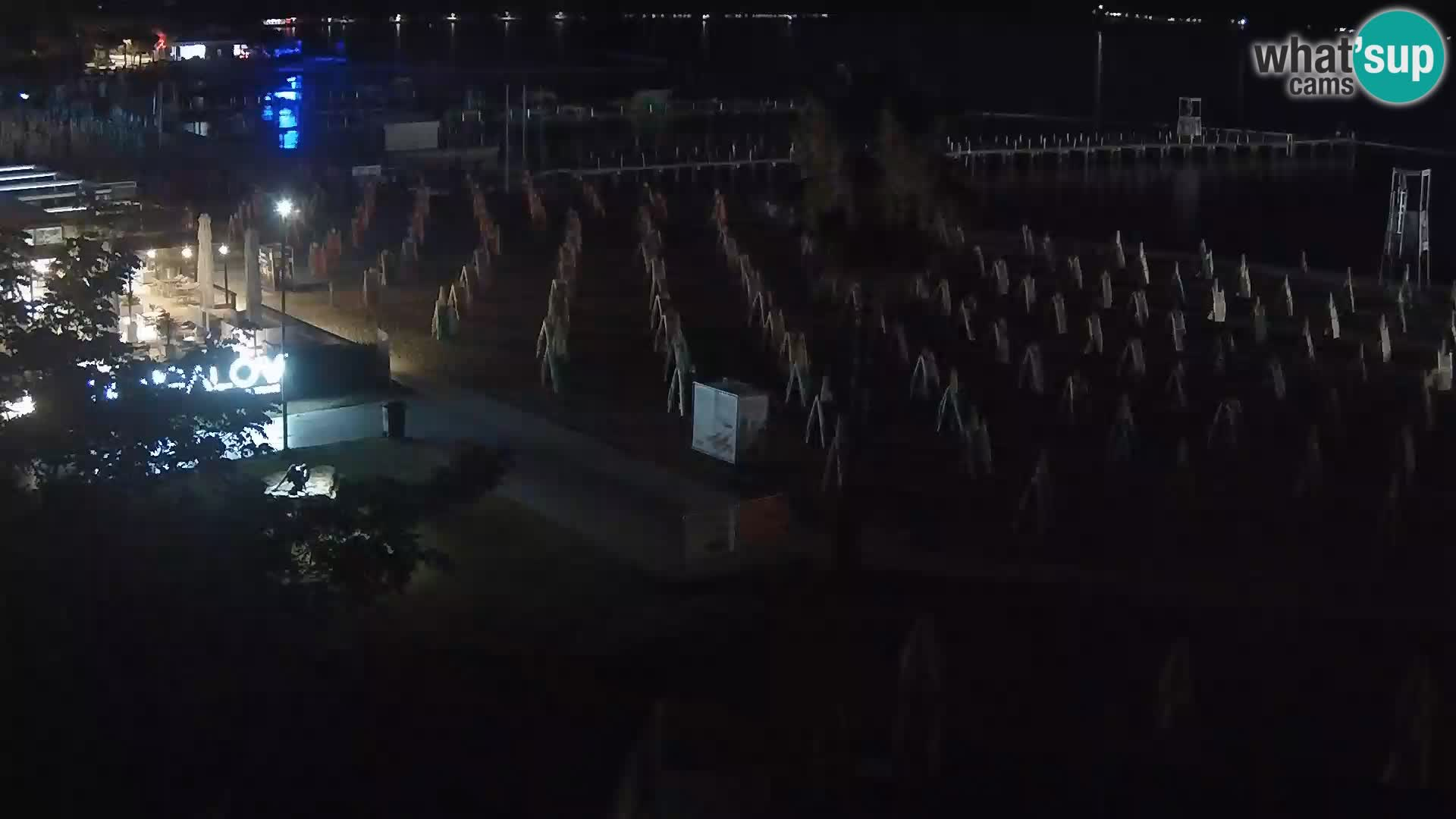 Webcam live Plage Portorož – Caffe Karamela
