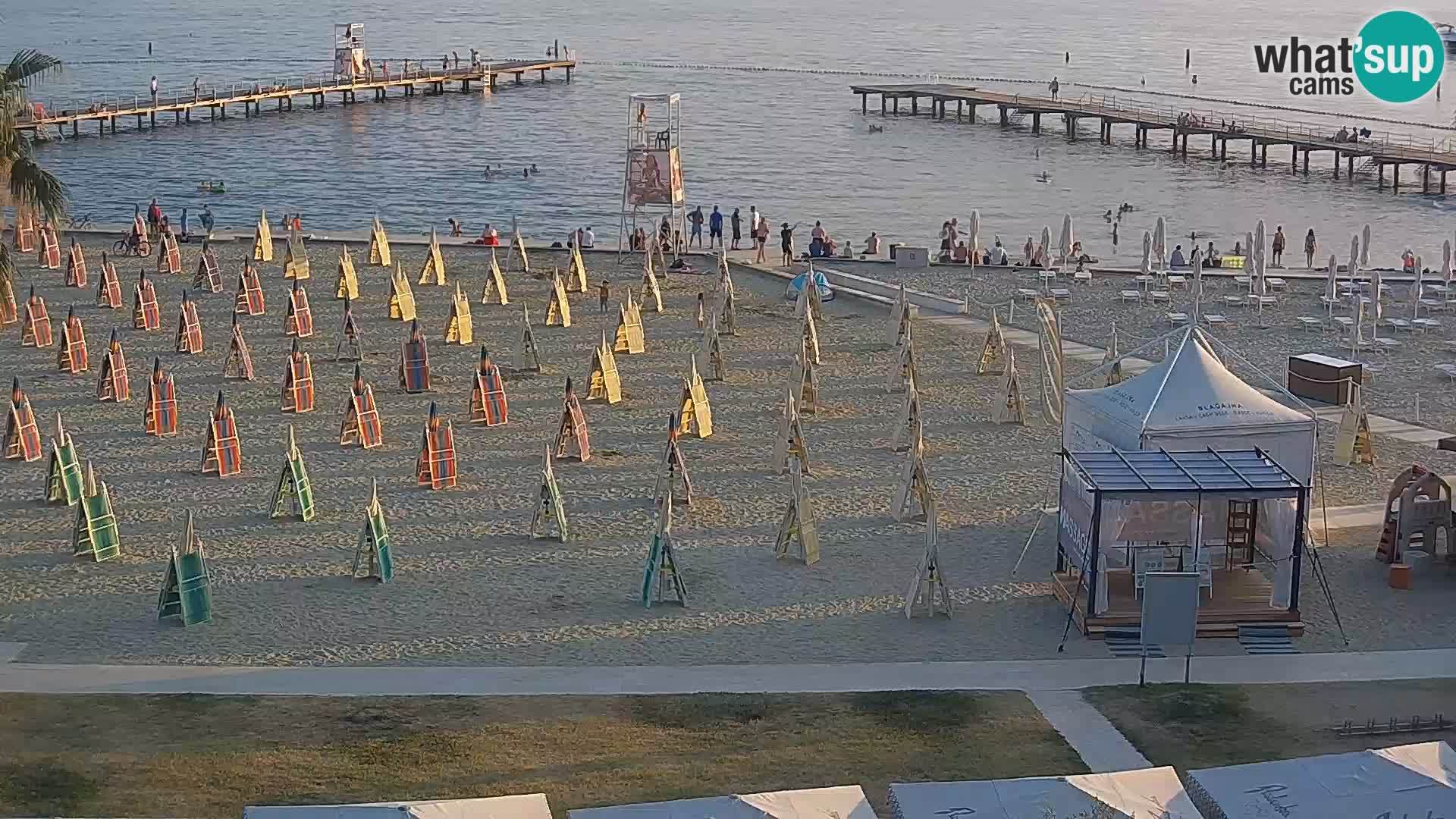 Webcam spiaggia Portorose – Caffe Karamela