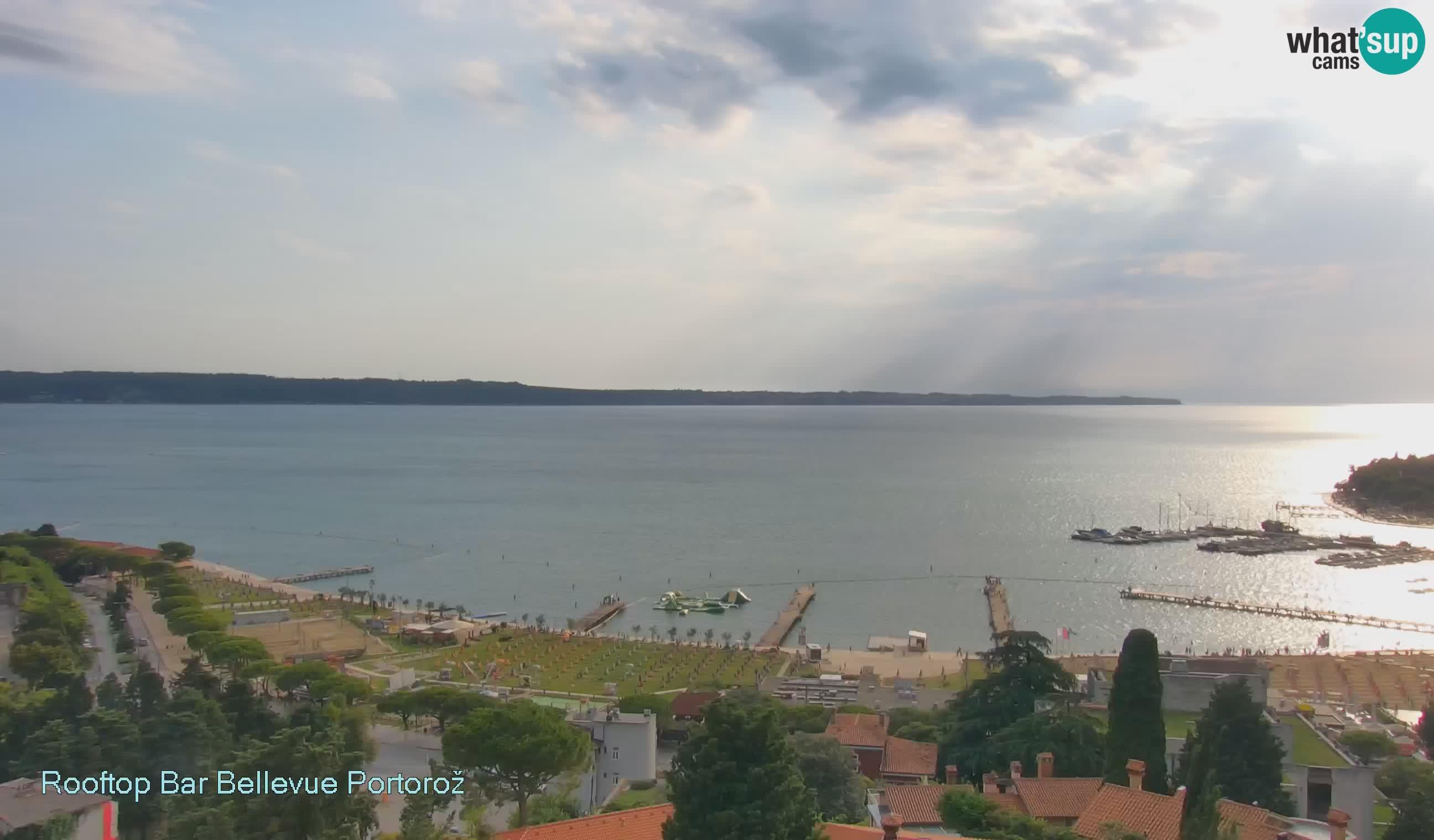 Live Cam Portorož – Panorama Villa Bellevue