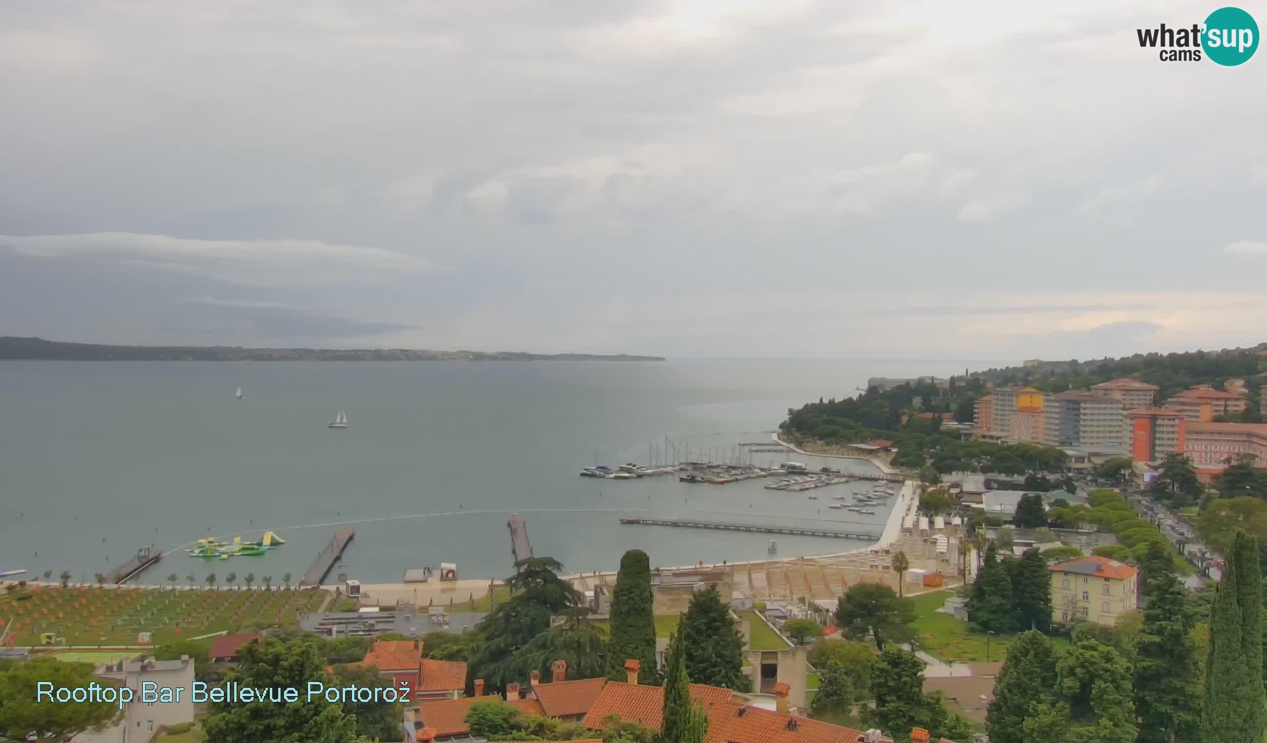 Webcam Portorož – Panorama Villa Bellevue