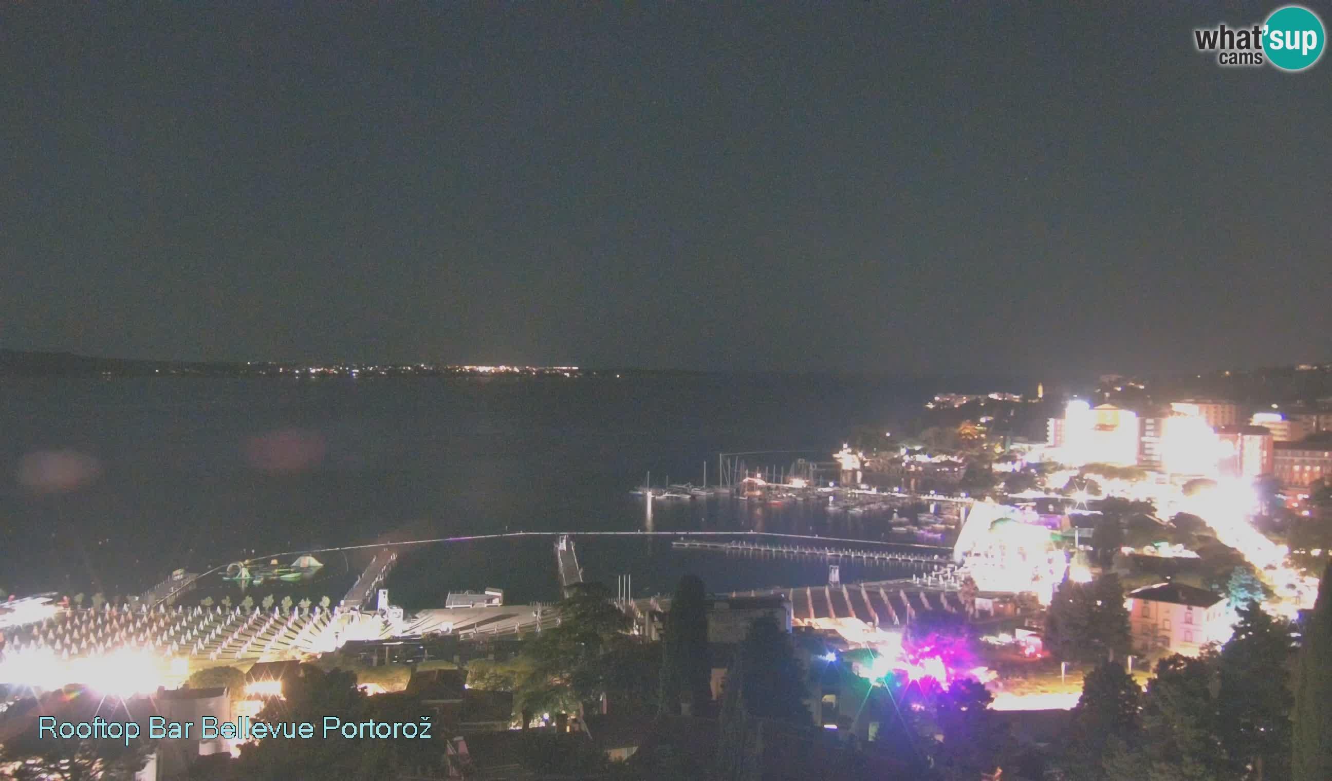 Livecam Portorož – view from Villa Bellevue