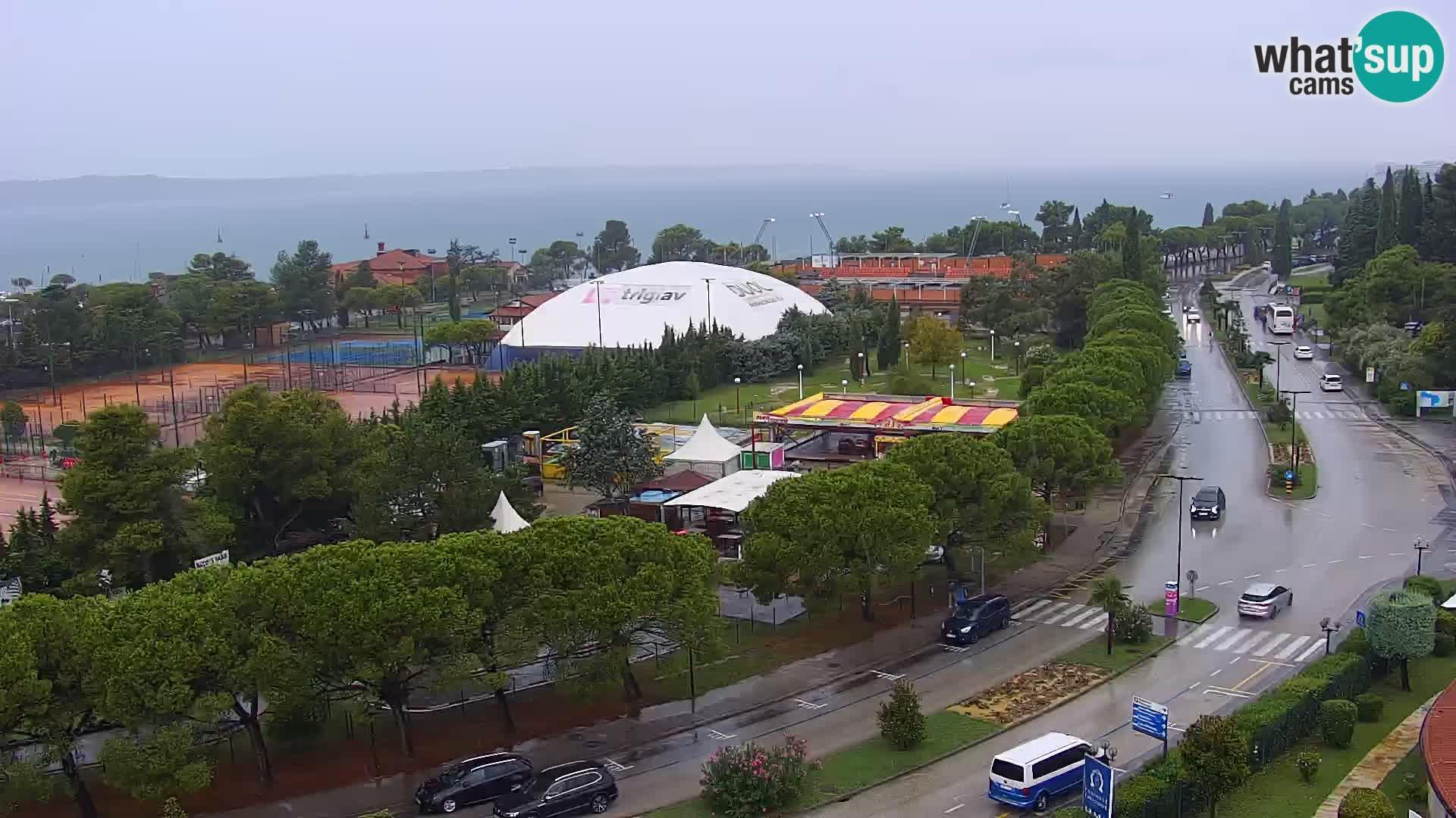 Marina Portorož und dem Golf von Piran