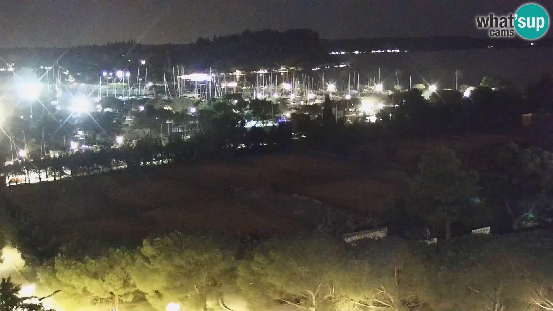 Portorož Marina y el golfo de Piran