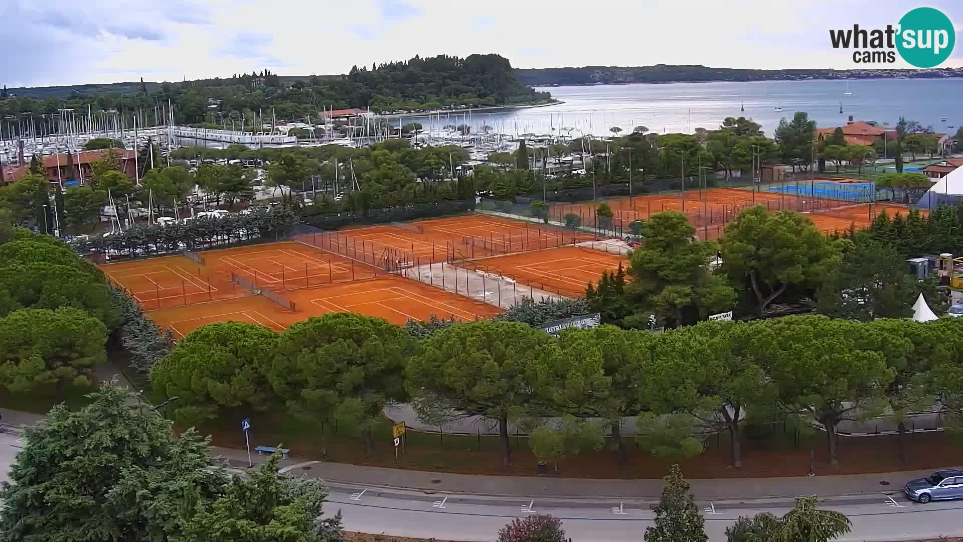 Portorož Marina et le golfe de Piran