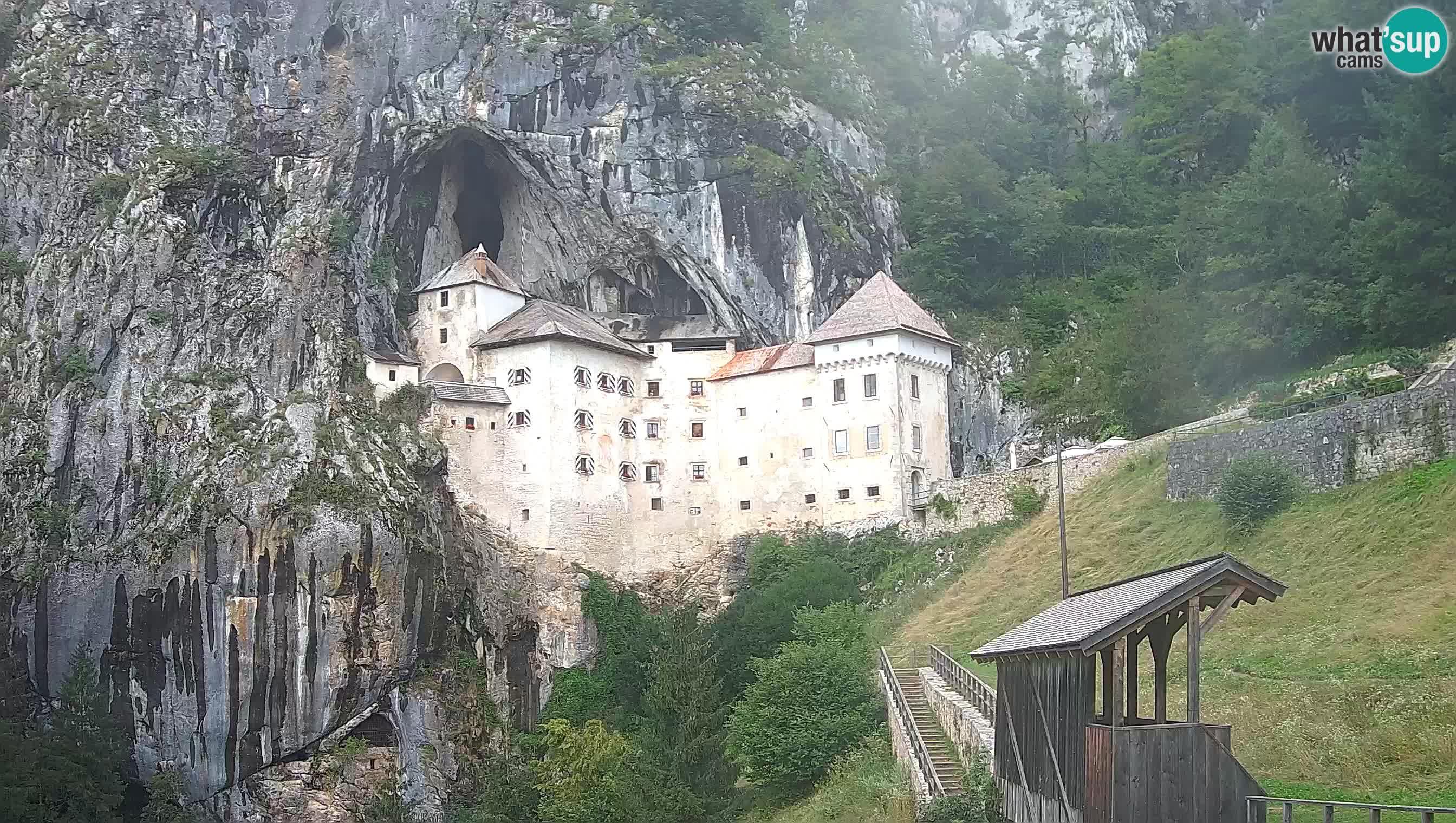 Live Webcam Castello di Predjama – Postumia – Slovenia