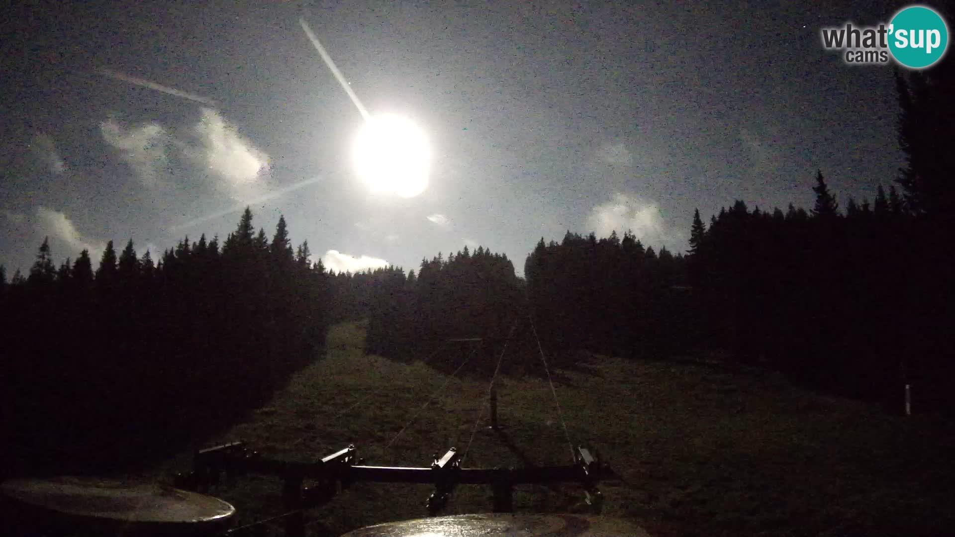 Estación de esquí Rogla Webcam Ostruščica pistas 1 y 2