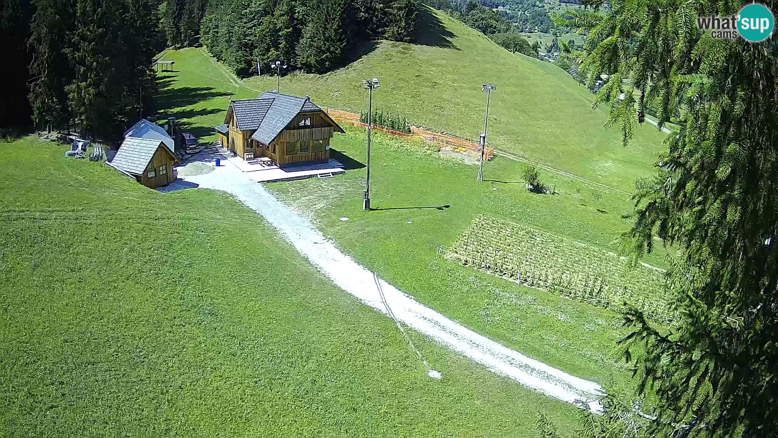 Smučišče Rudno – Pogled na spodnji del smučišča