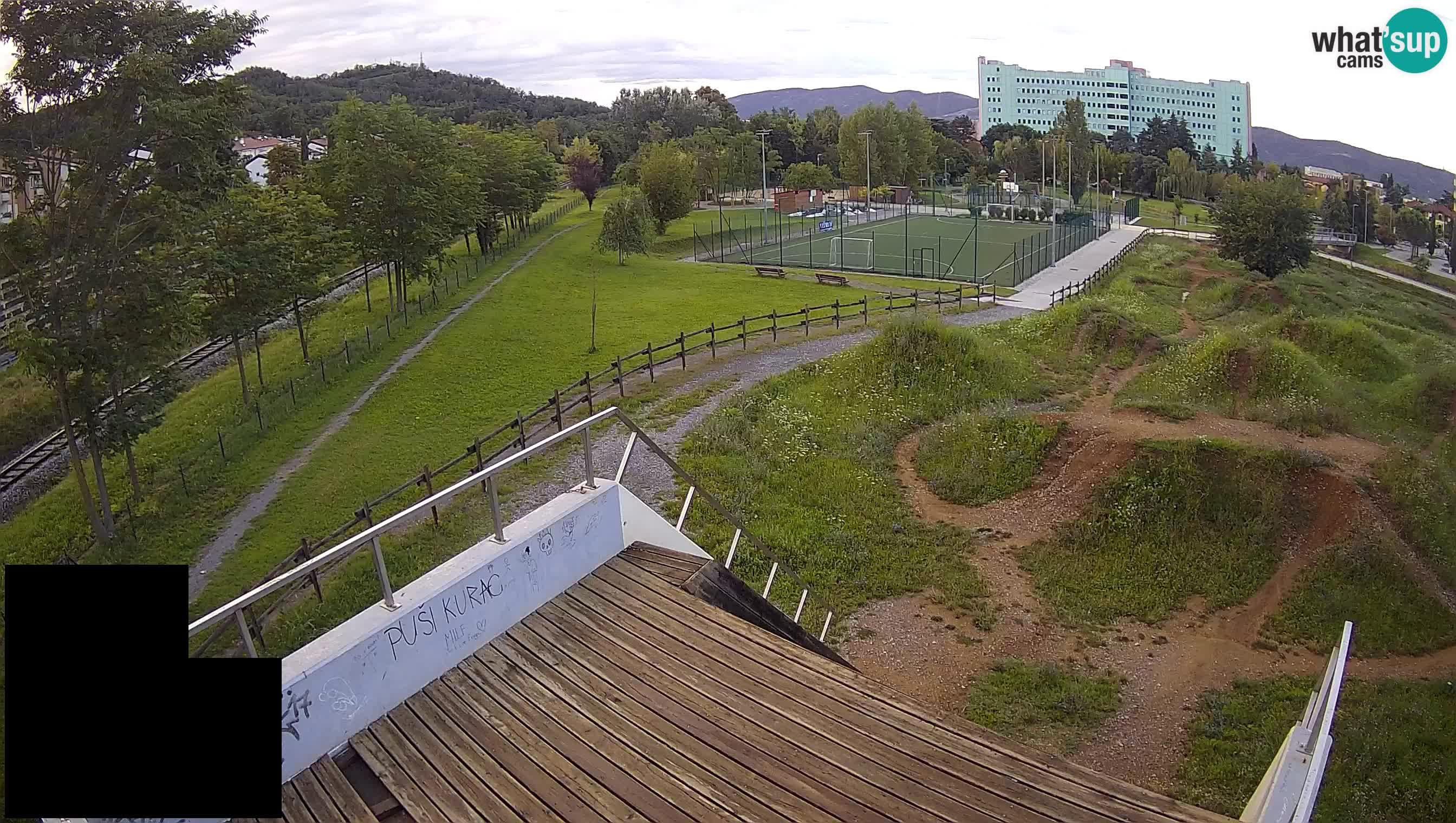 Šempeter pri Gorici sport park Live Webcam – Goriška – Slovenia