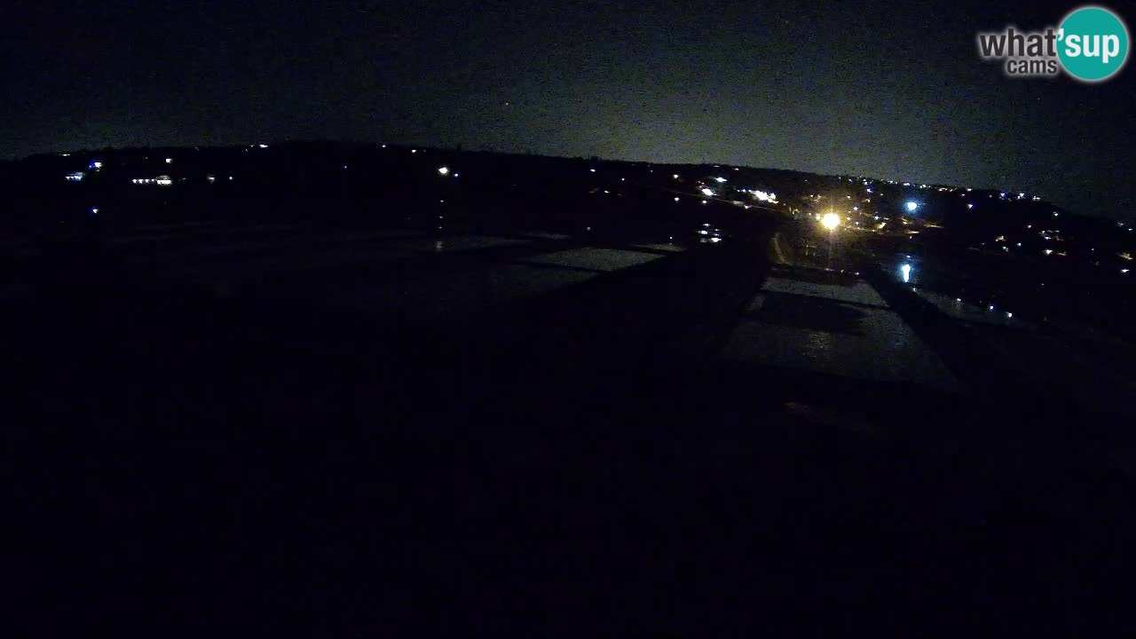Sezza – Panorama e le saline