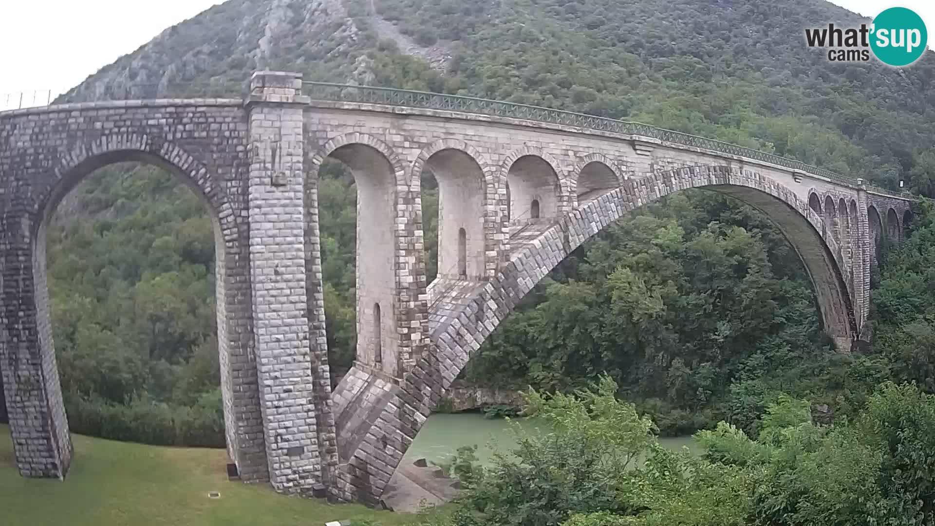 Puente de Solkan – Camera en vivo