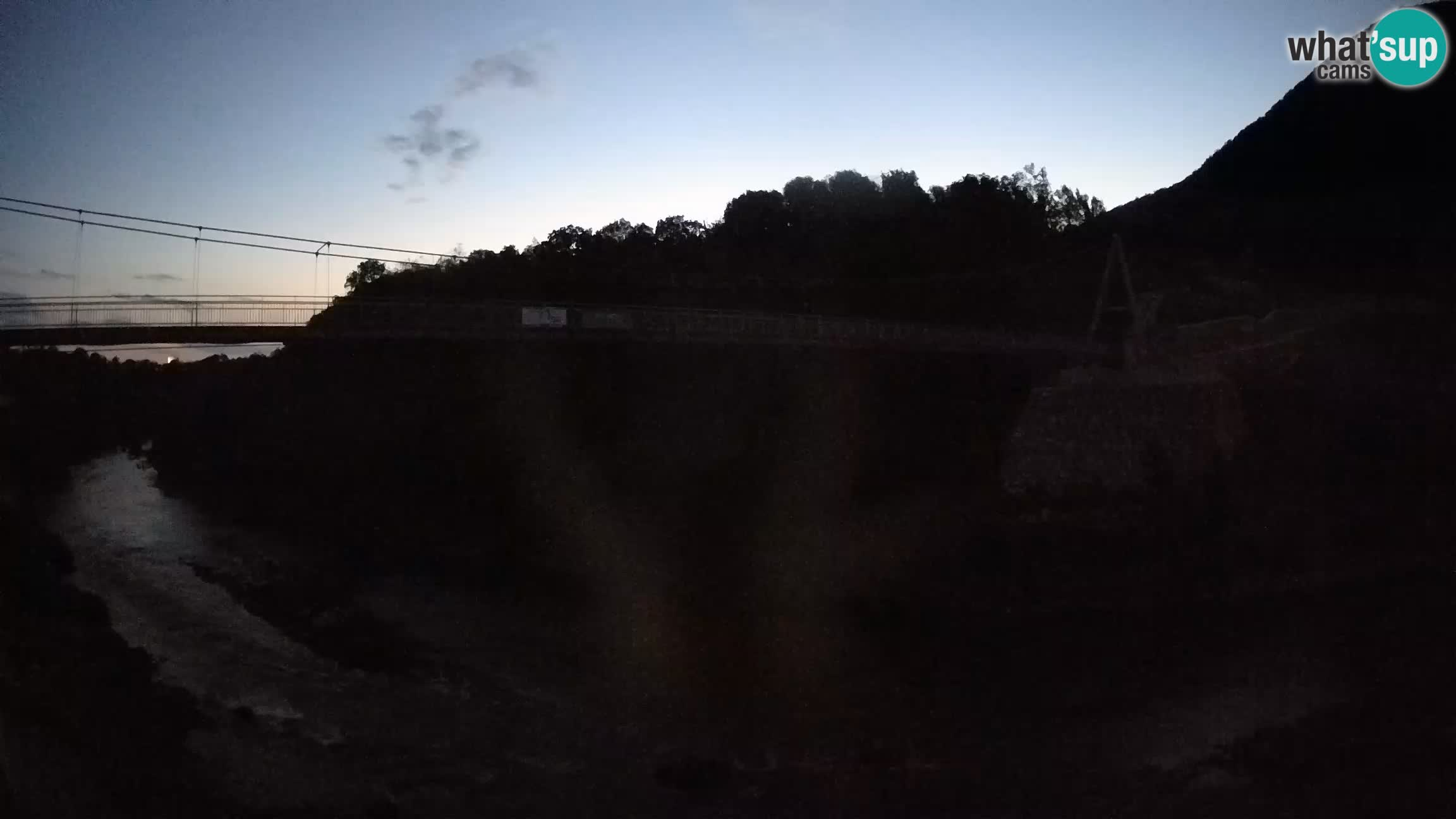 Brv čez reko Sočo – Solkan Spletna kamera