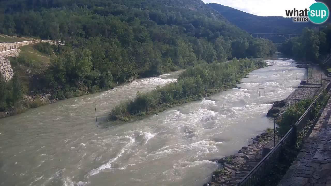 Soča River at Solkan Kayak Center