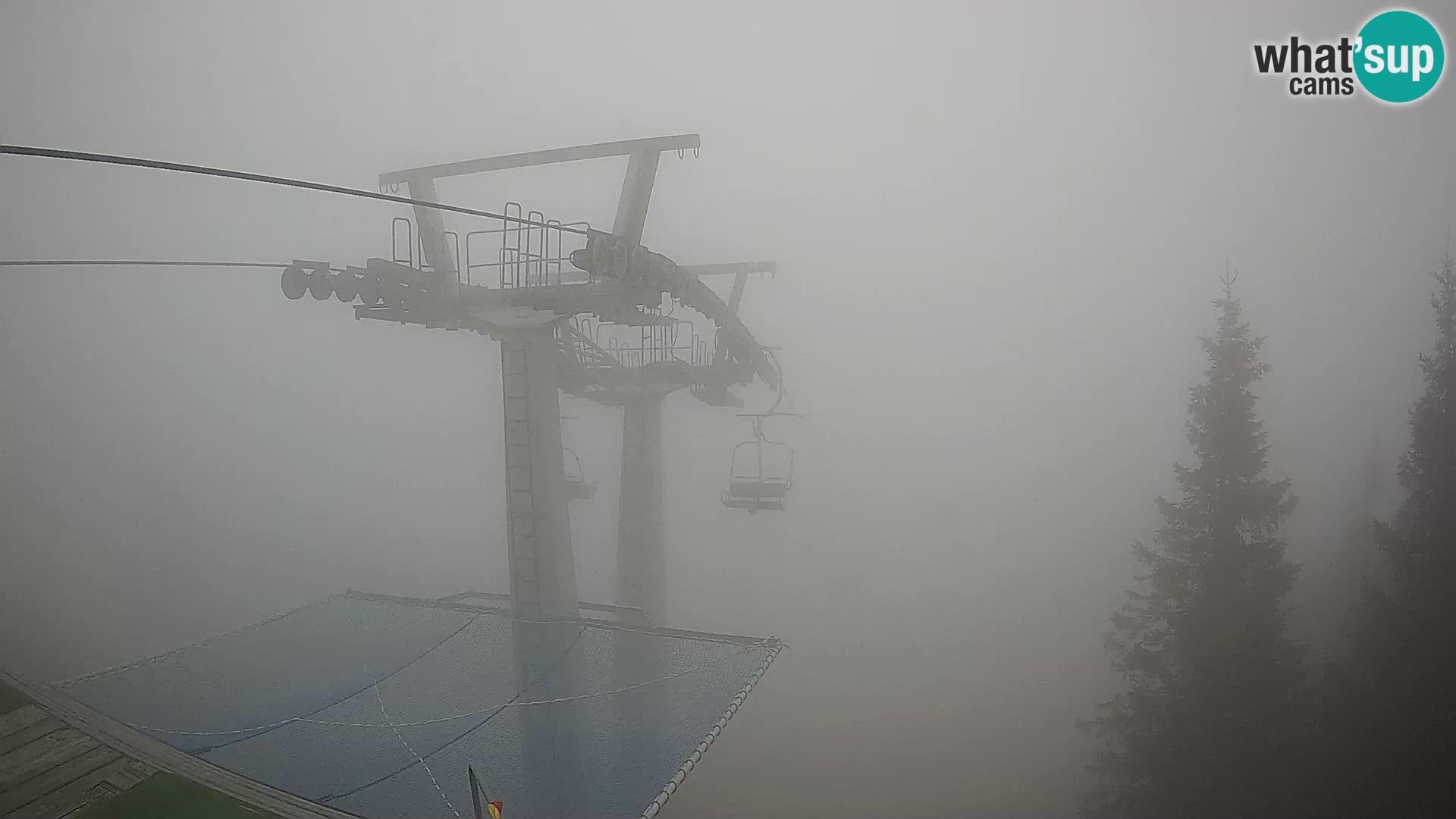 Web kamera Sorica Skijalište – Soriška Planina – Vrh Lajnar
