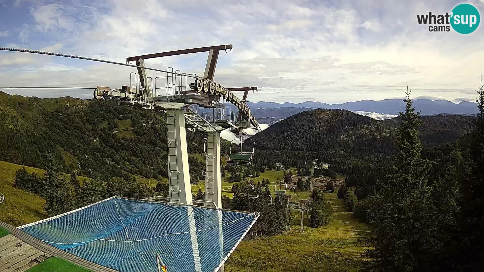 Camera en vivo Sorica Estacion esqui – Soriška Planina – Vrh Lajnar