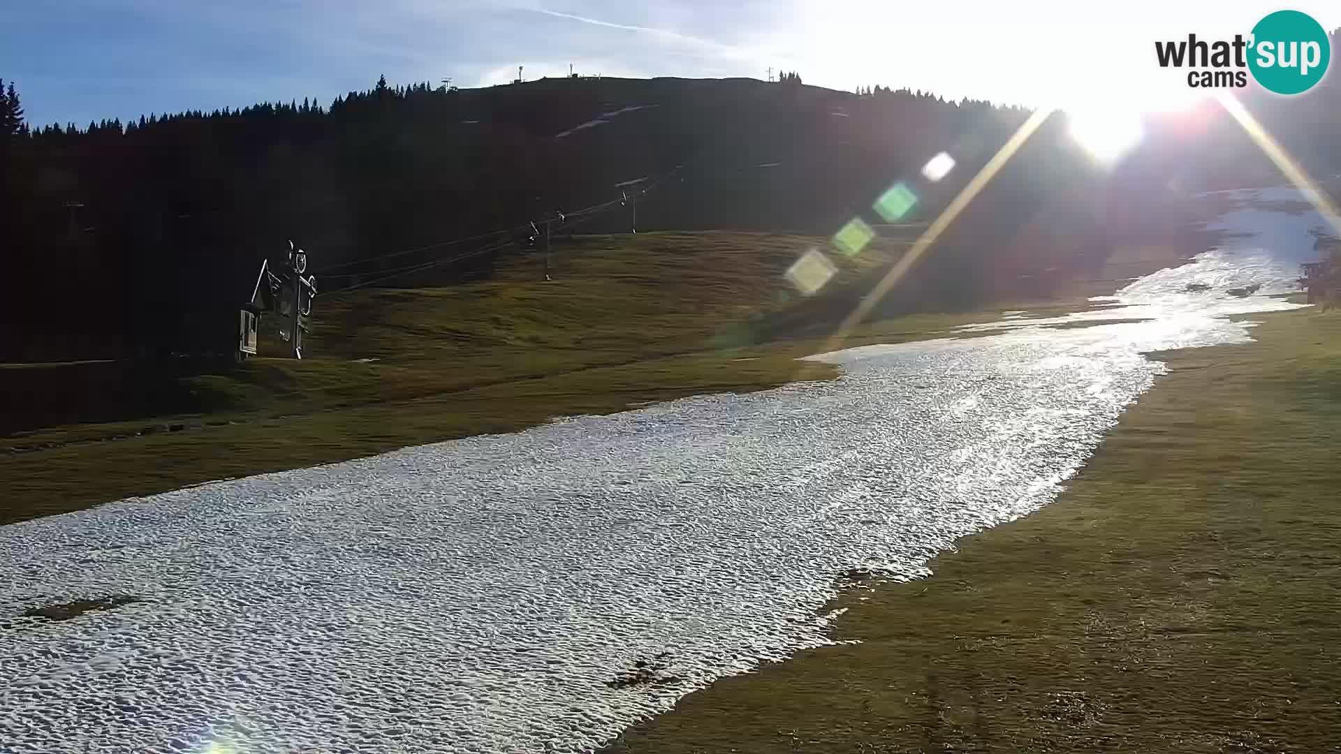 Livecam Sorica stazione sciistica