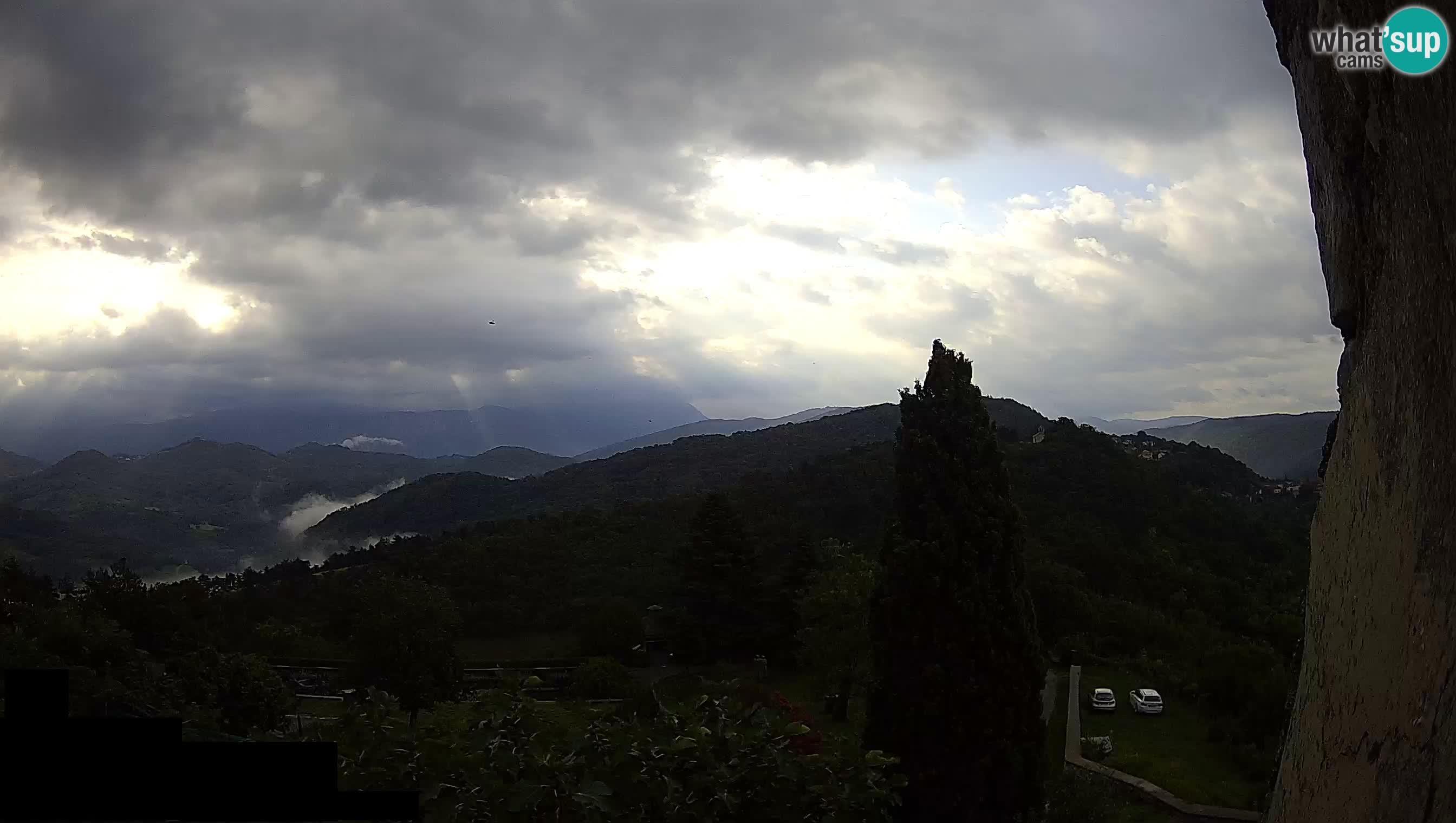 Štanjel – Jardín de Ferrari – Eslovenia camera en vivo