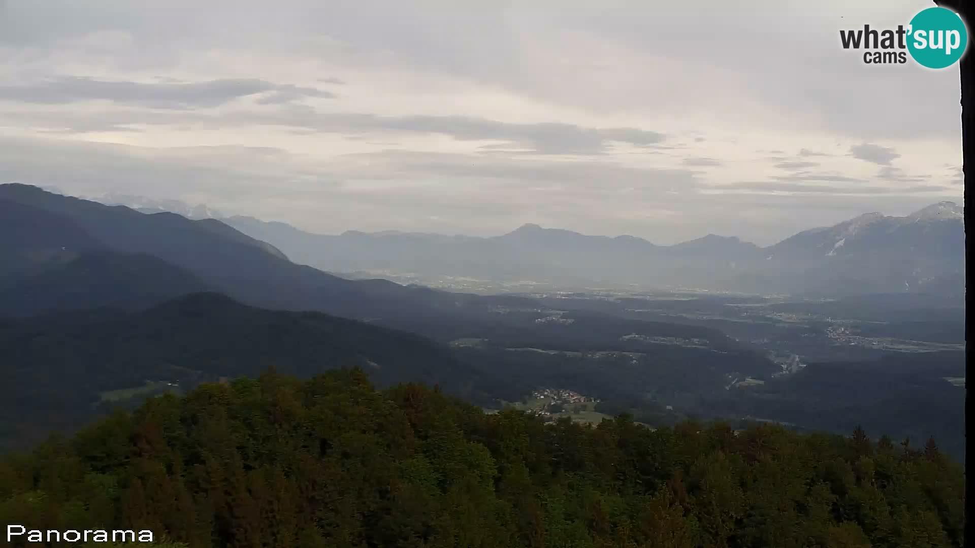 Spletna kamera Sveti Jošt nad Kranjem