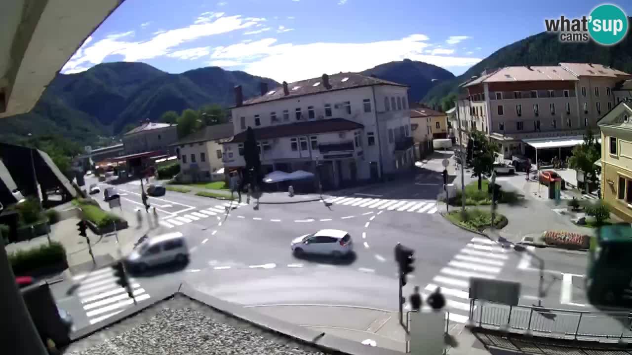 Centro de la ciudad Tolmin