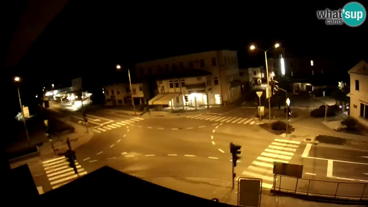 Centro città di Tolmino