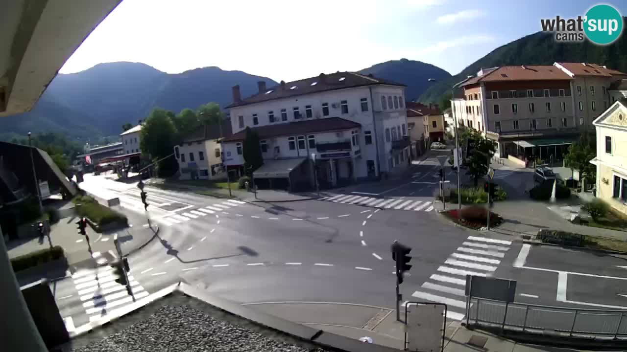 City center of Tolmin