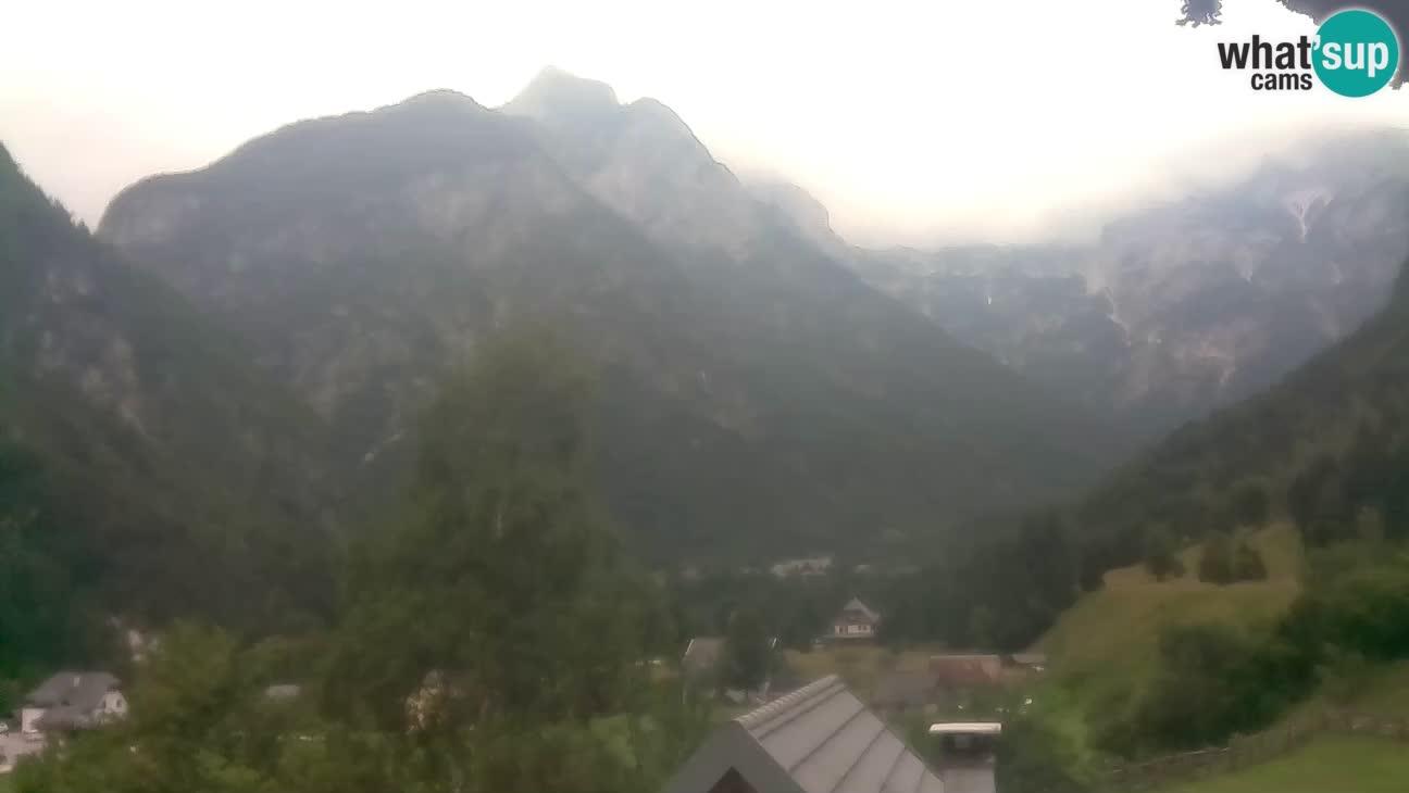 Webcam Trenta – Vista su Šplevt, Pihavec e Prisojnika