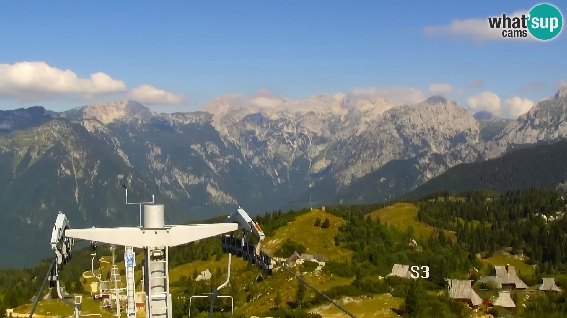 Camera en vivo Velika Planina