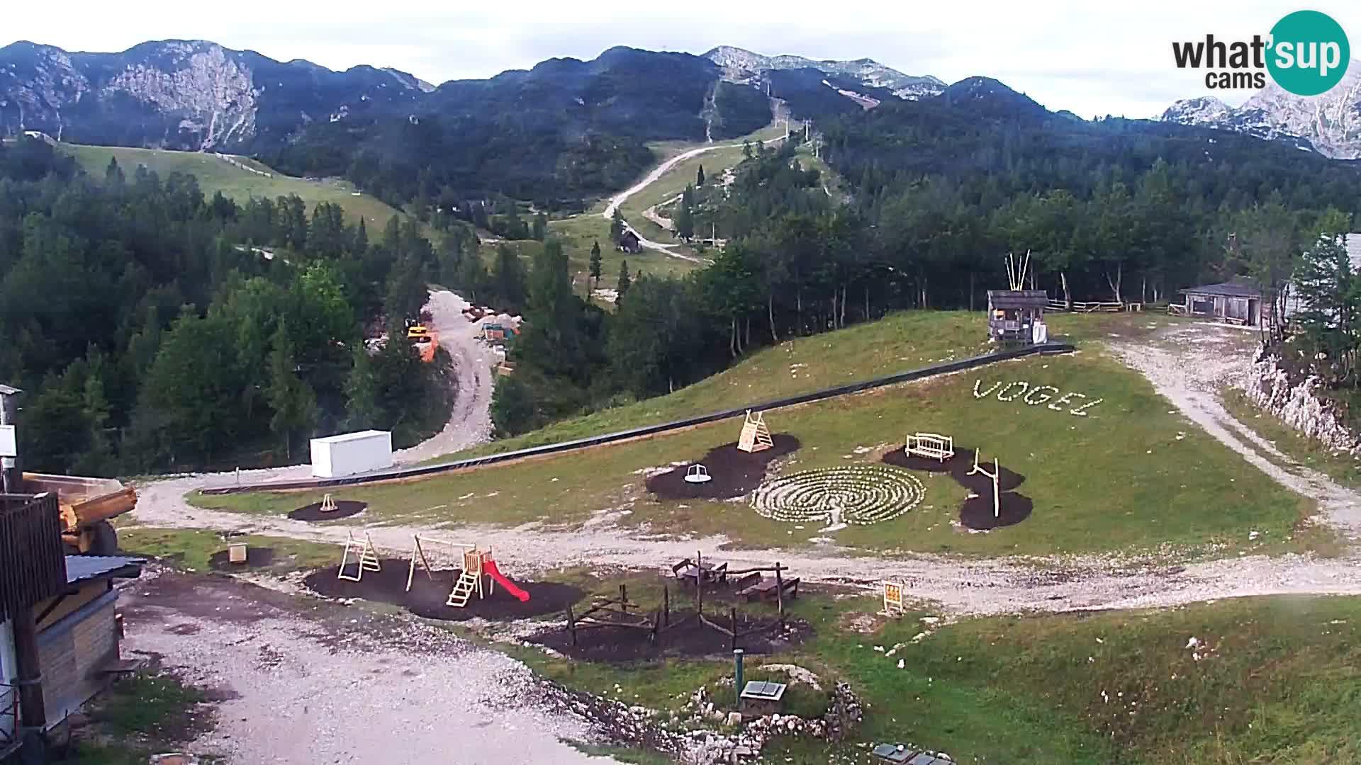 Smučišče Kamera v zivo Vogel – postaja nihalke