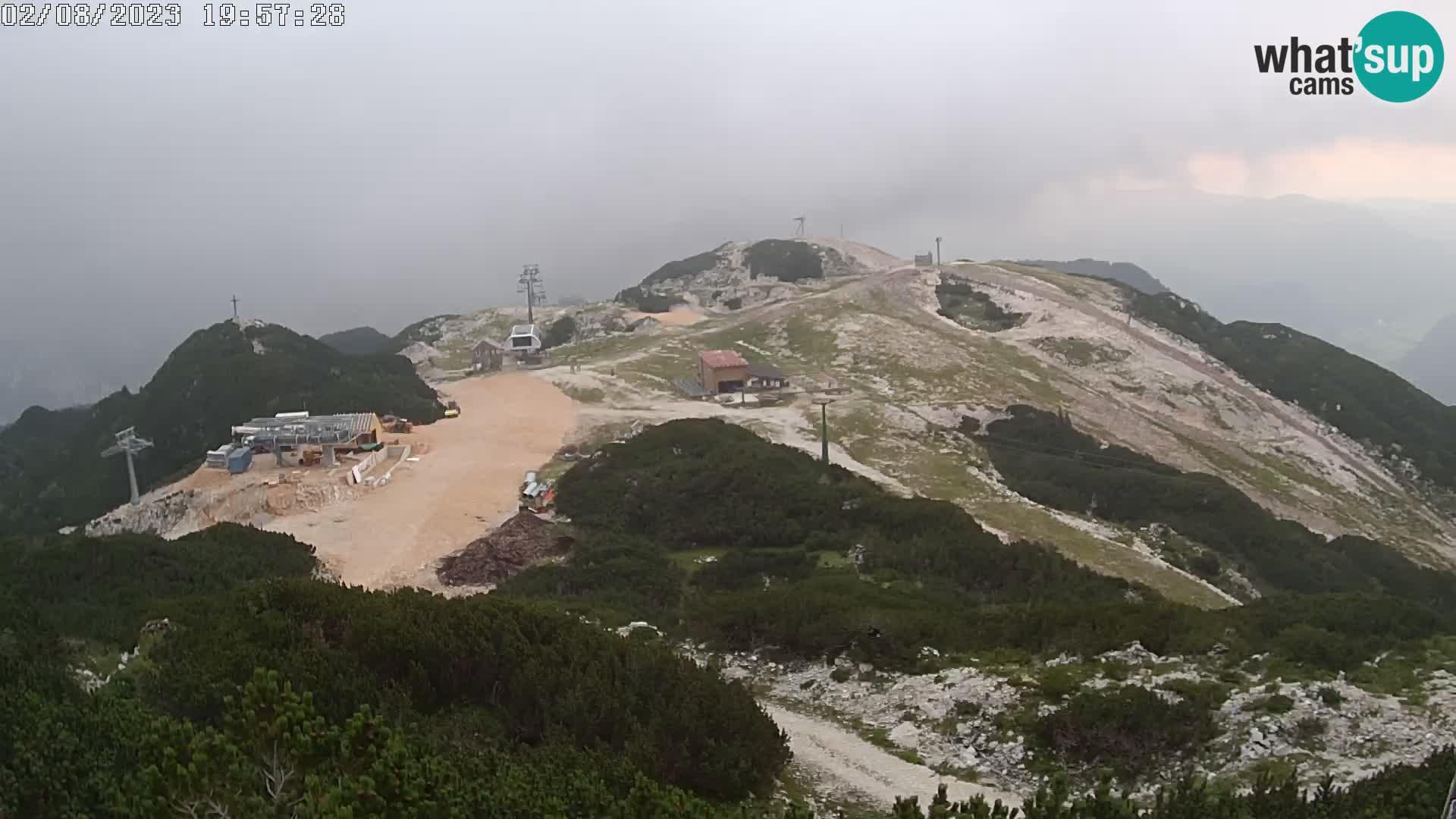 Skigebiet Vogel – Orlova Glava und Triglav