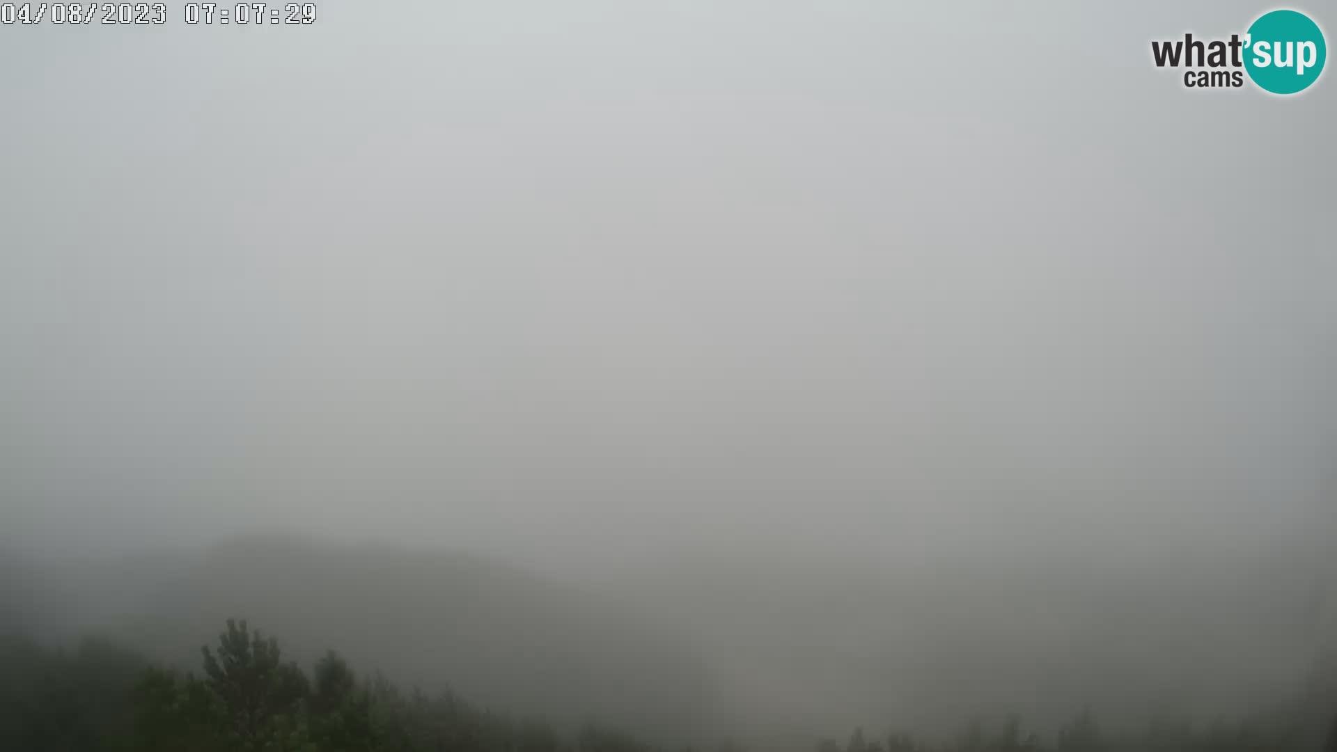 Stazione sciistica Vogel – Panorama dalla Orlova glave verso il Triglav