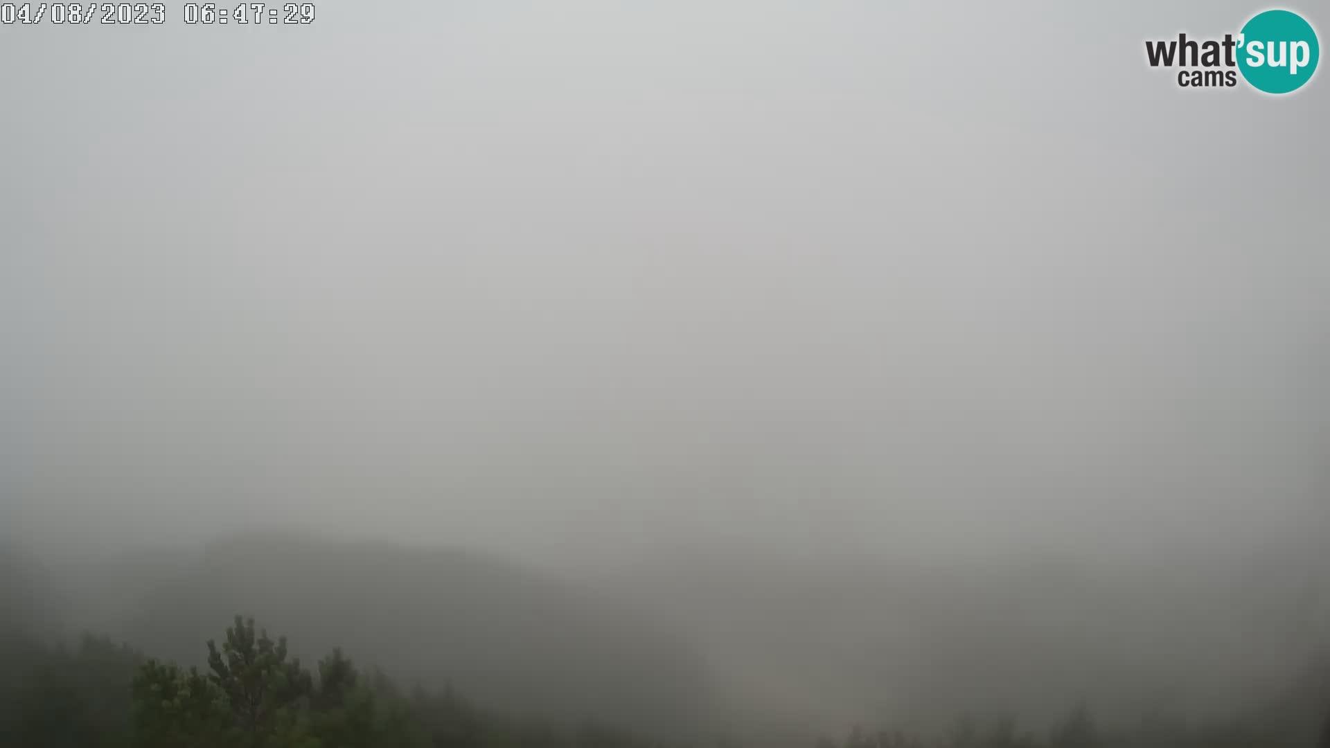 Smučišče Vogel – Pogled z Orlove Glave proti Triglavu