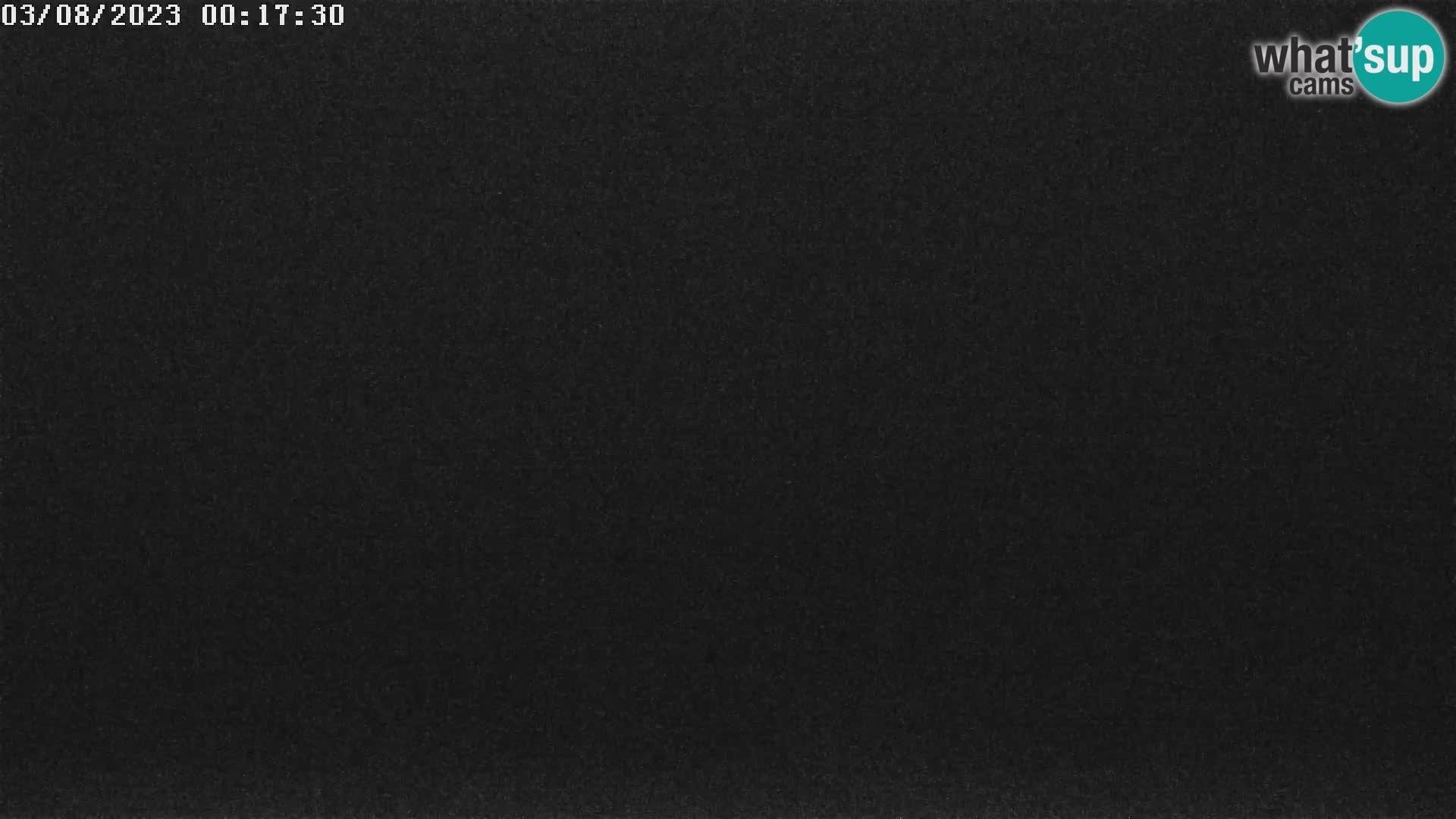 Vogel Ski Resort webca View from Orlova Glava to Triglav