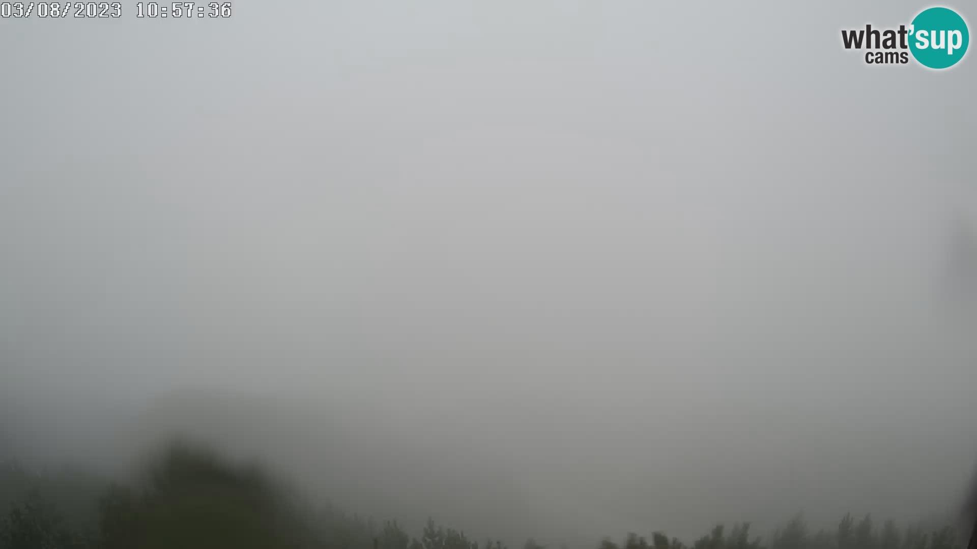 Smučišče Vogel Spletna kamera Pogled z Orlove Glave proti Triglavu