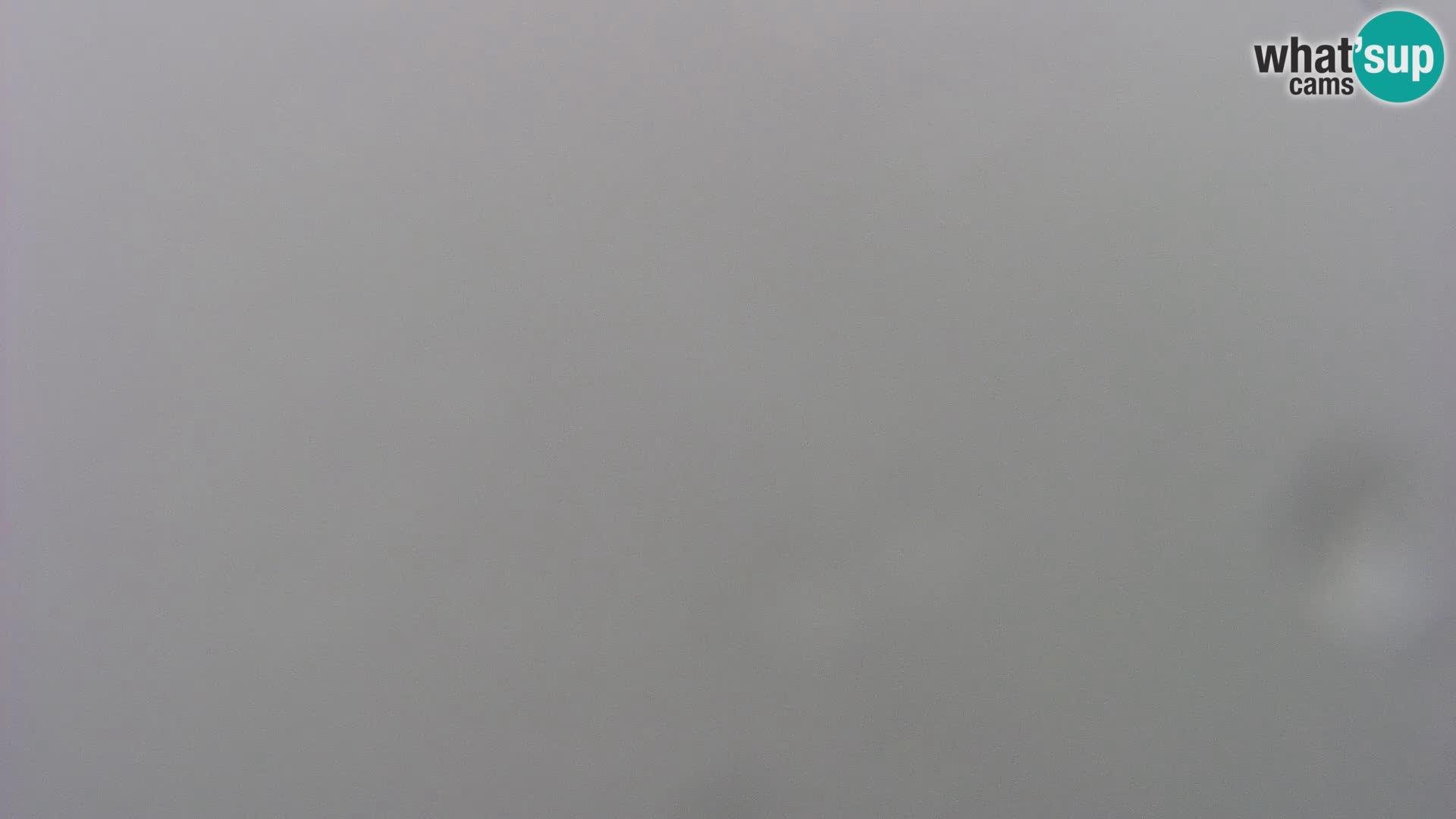 Cámara web del lago Bohinj y Triglav – vista desde la estación de esquí de Vogel