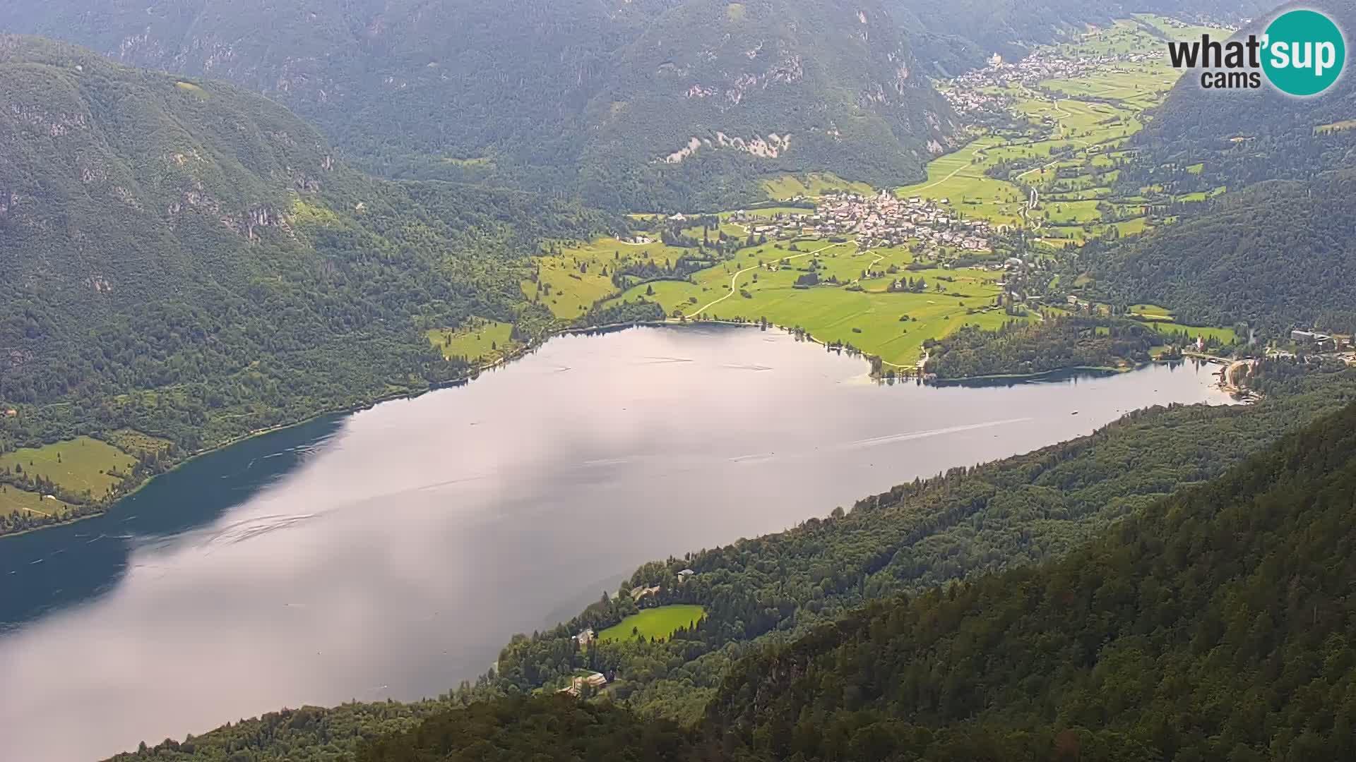 Spletna kamera Bohinjsko jezero – panoramski pogled Bohinj