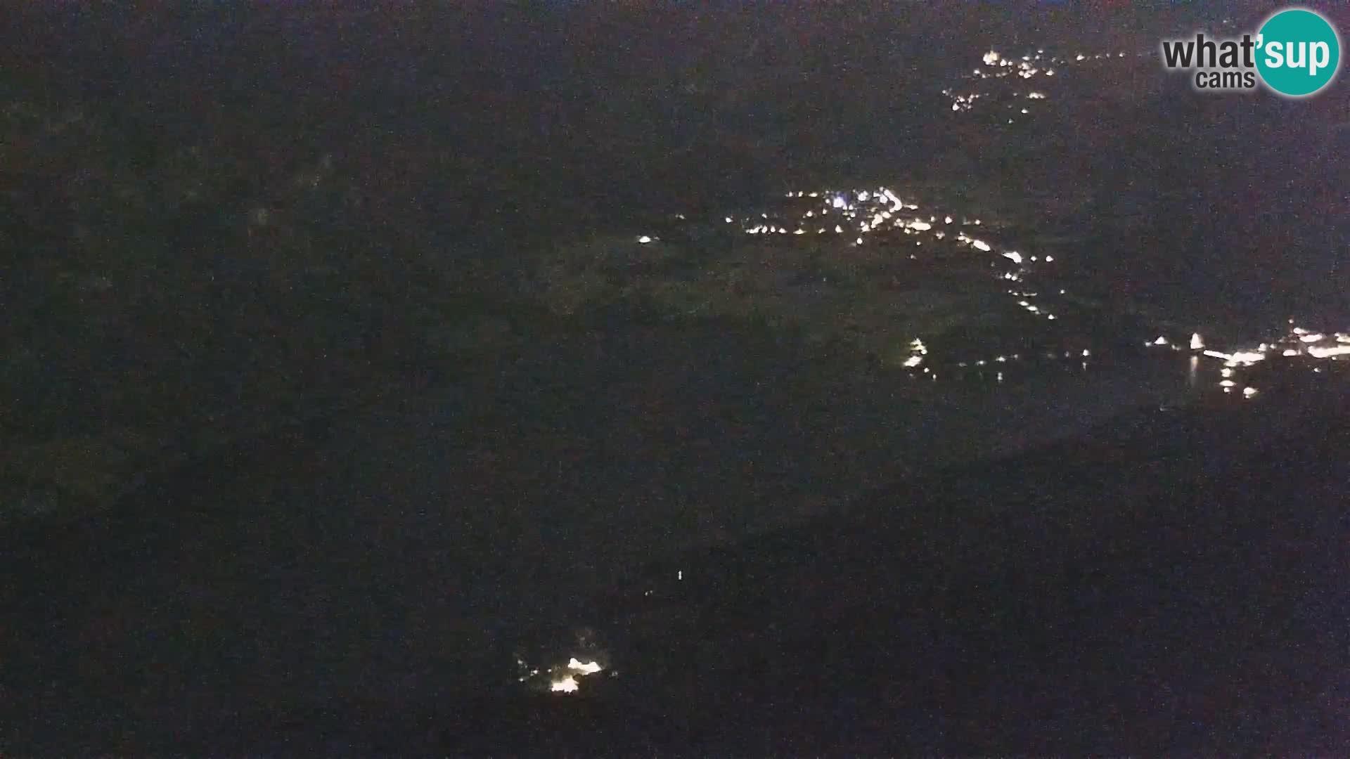 Bohinj lake webcam and Triglav – view from Vogel ski resort