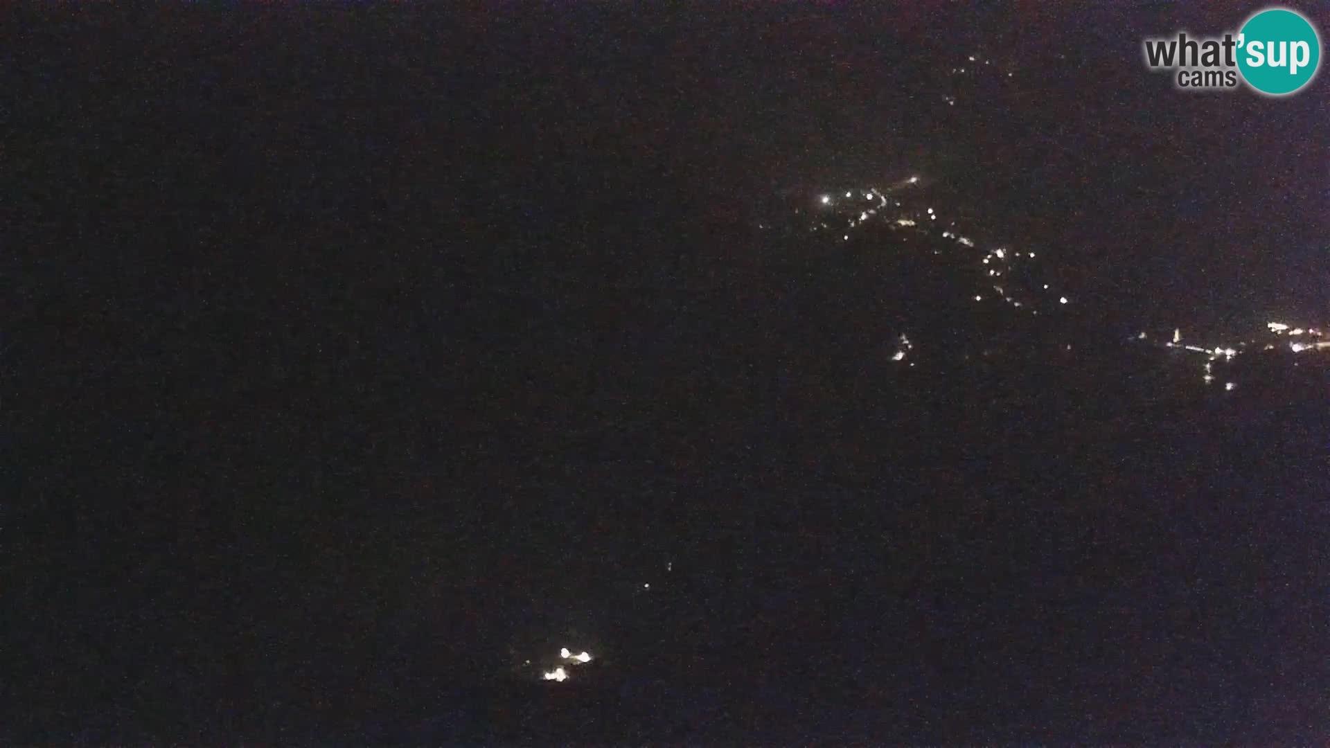 Webcam Bohinj See und Triglav – Blick vom Skigebiet Vogel