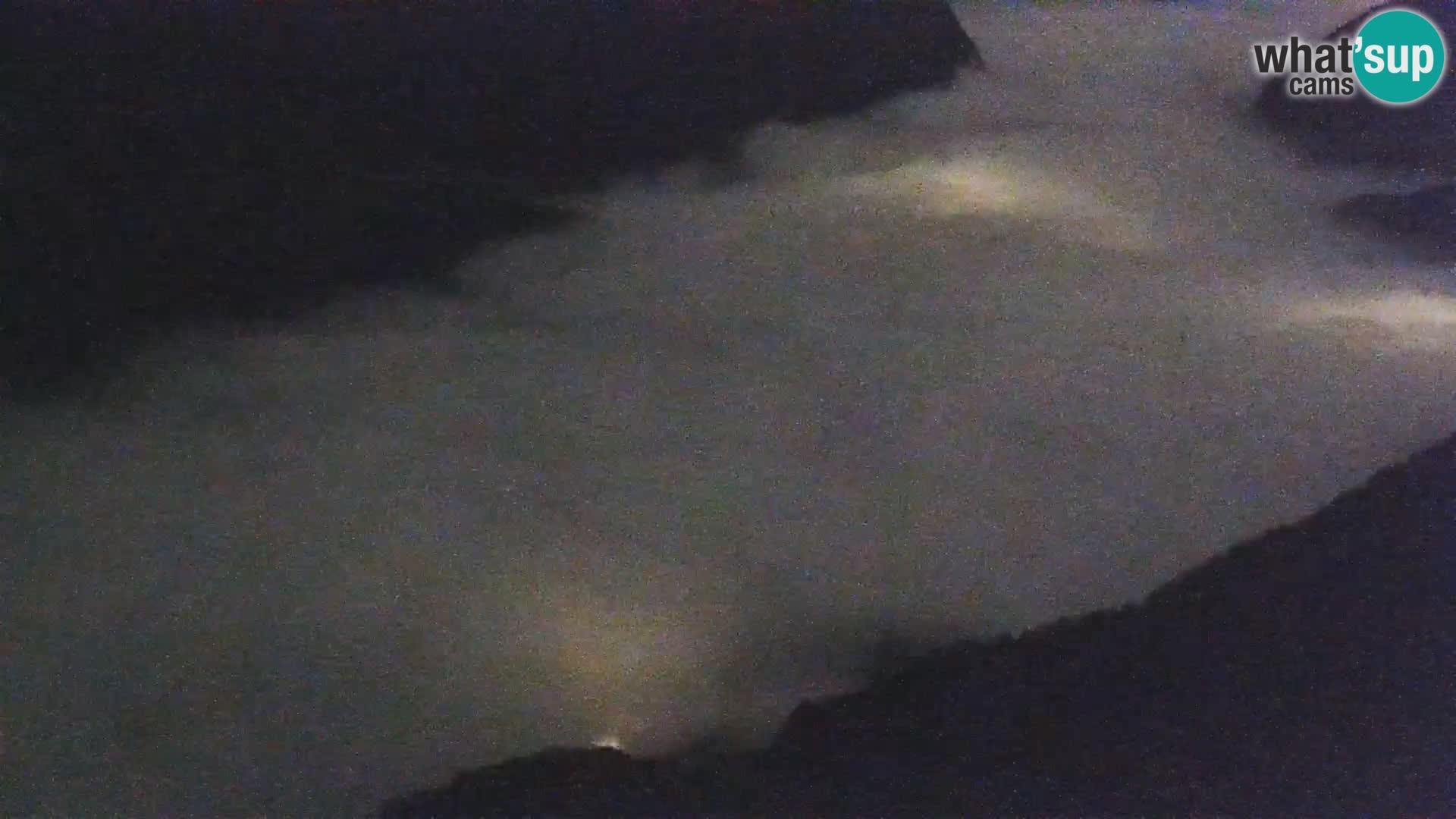 Web kamera Bohinjsko jezero i Triglav – pogled sa skijališta Vogel