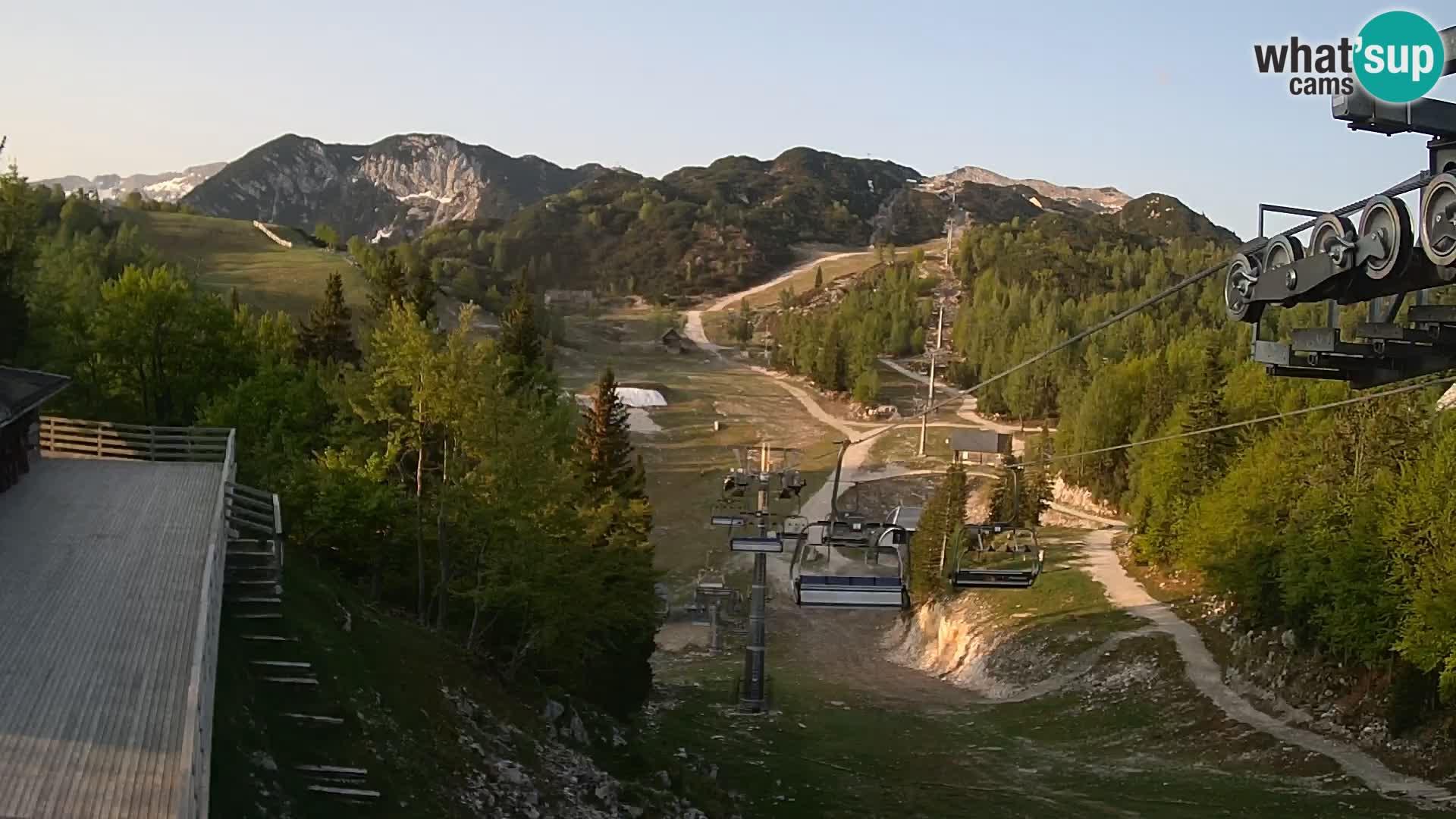 Vogel spletna kamera – Brunarica – Bohinj